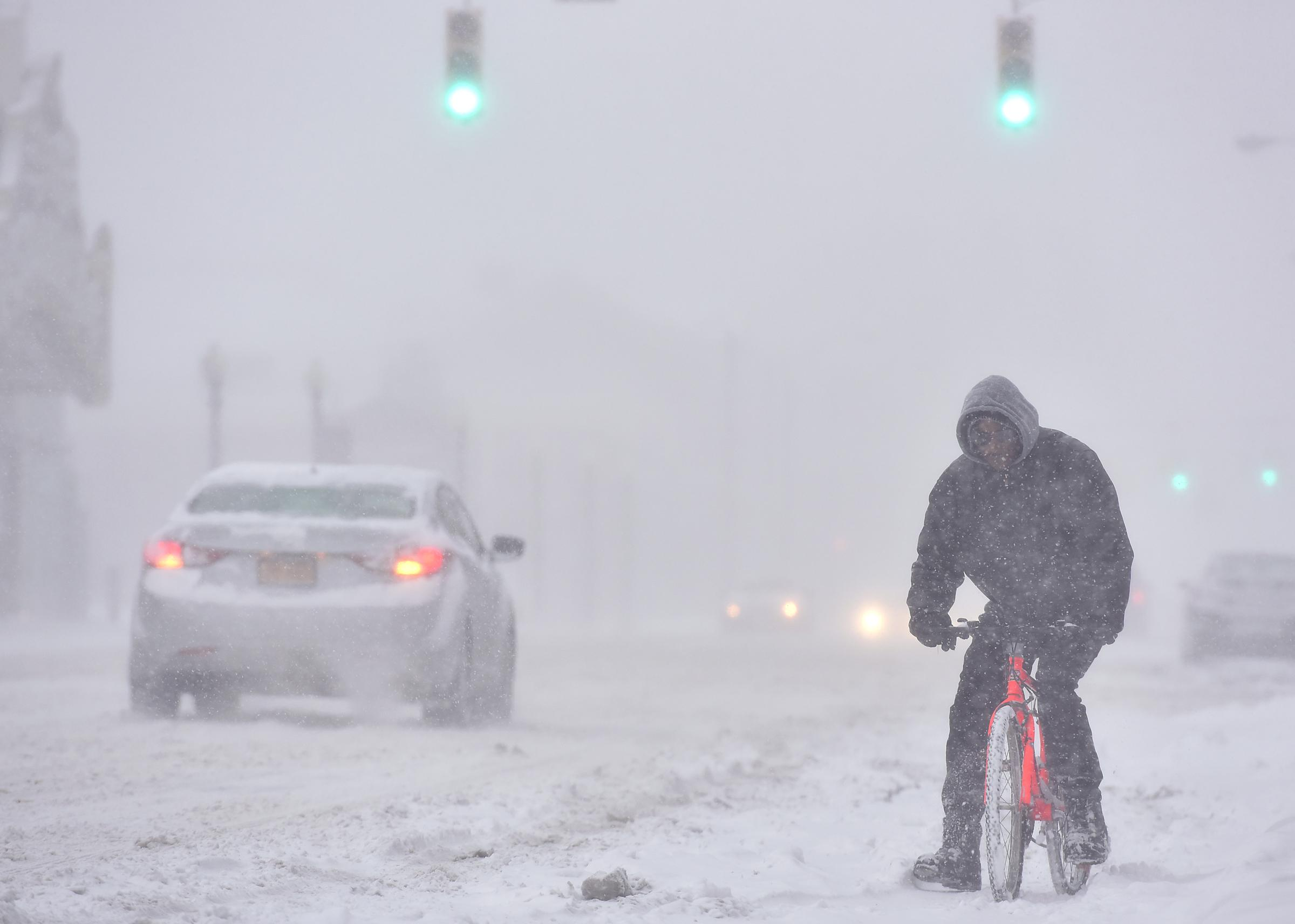 Big Snowstorm Could Hit East Coast Ohio Valley The