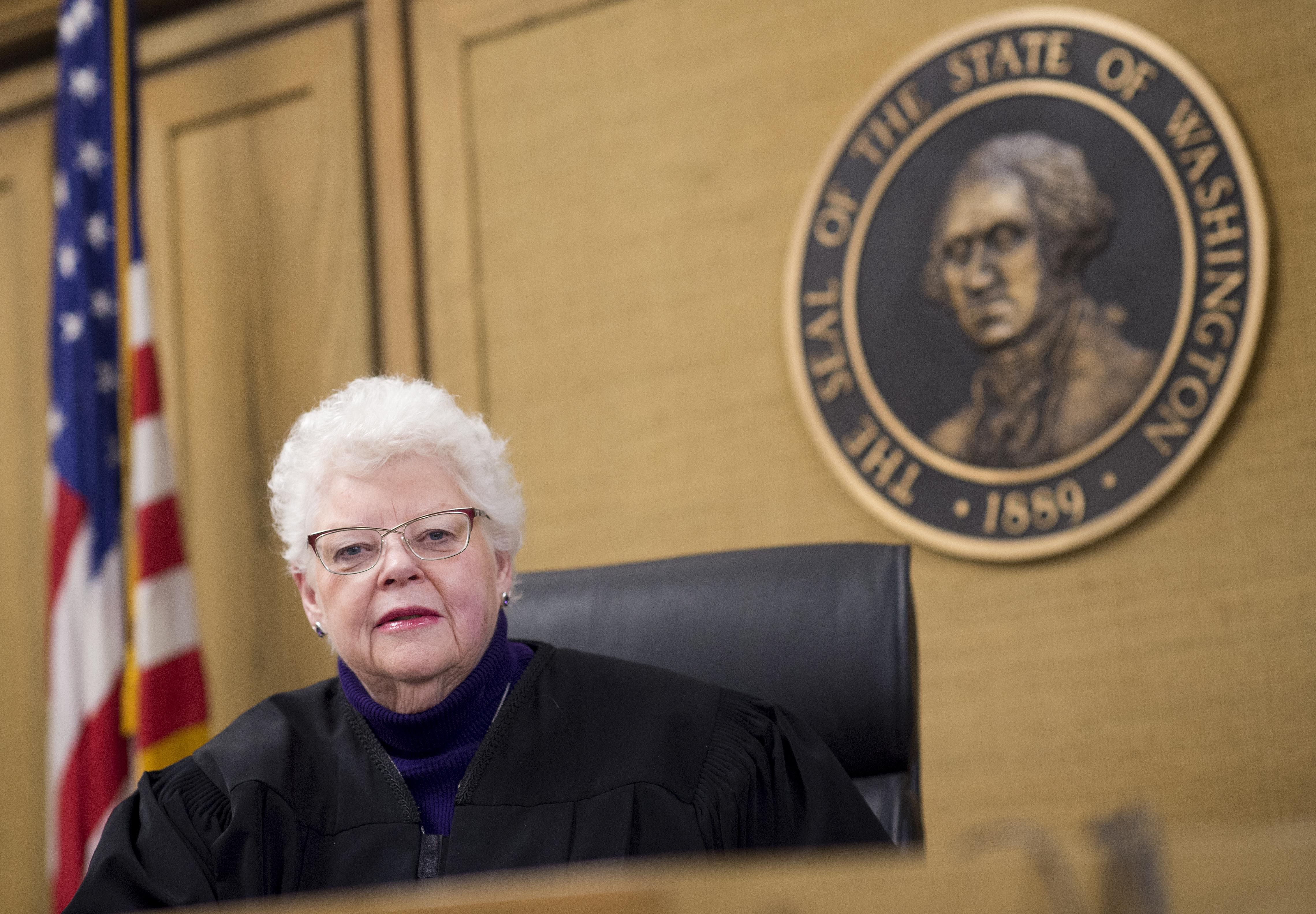 First Female Judge In Spokane County Superior Court Retiring This
