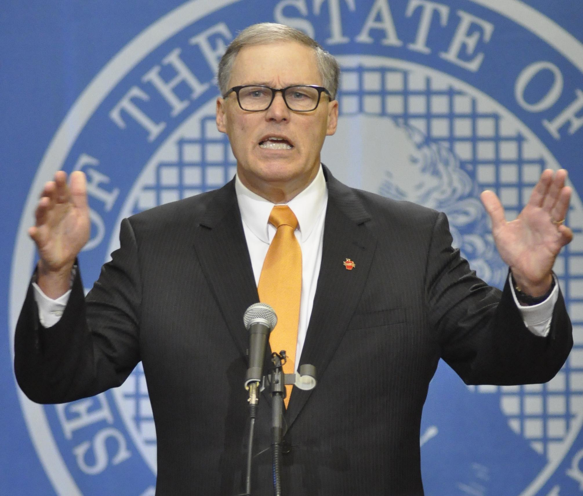 Washington Gov Jay Inslee blasts Senate GOP over political