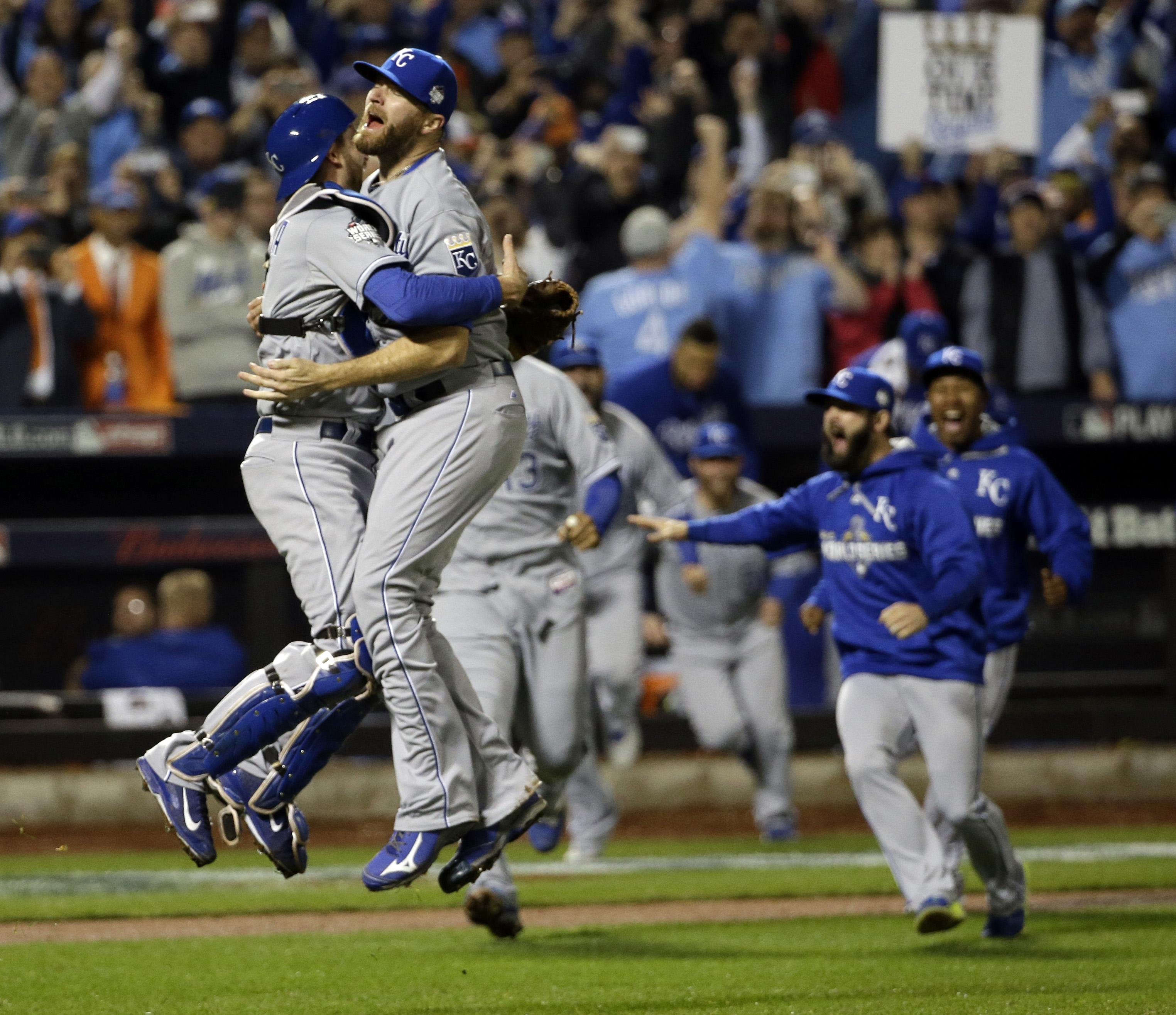 Even after World Series title, PECOTA projects Royals to