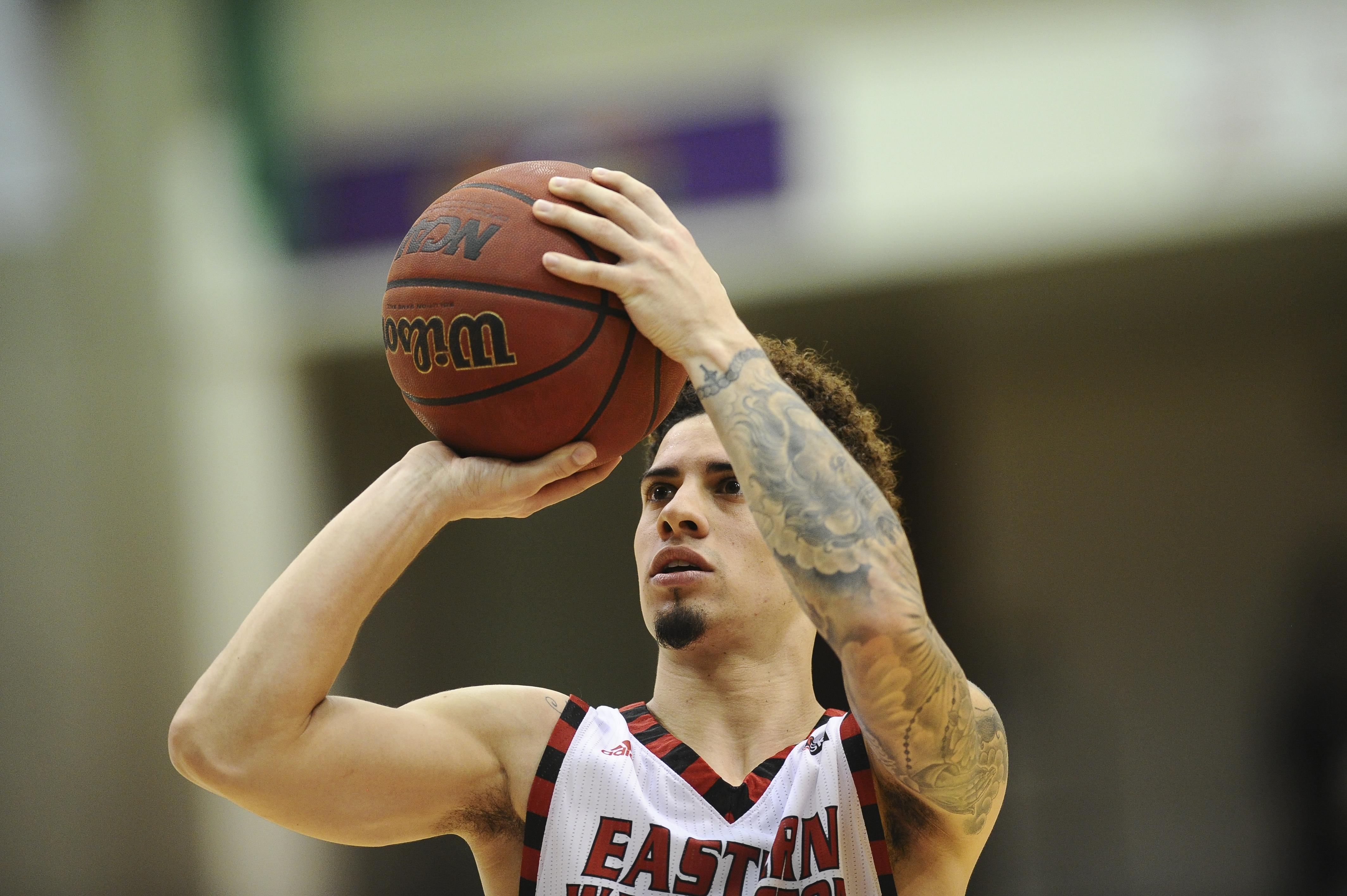 Saint Catherine University >> Austin McBroom gives Eastern unexpected scoring surge | The Spokesman-Review