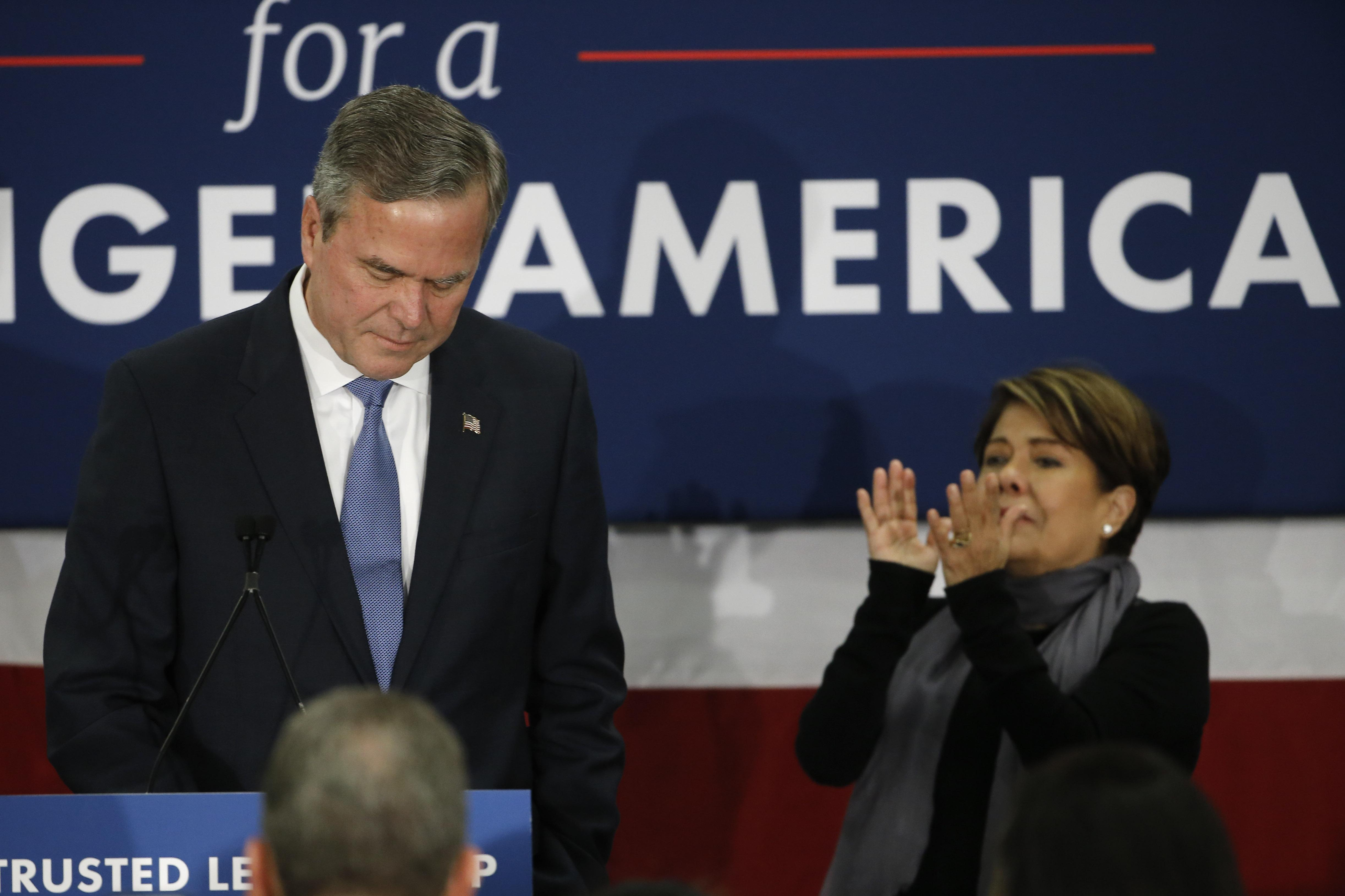 jeb bush drops out of the republican race for president the