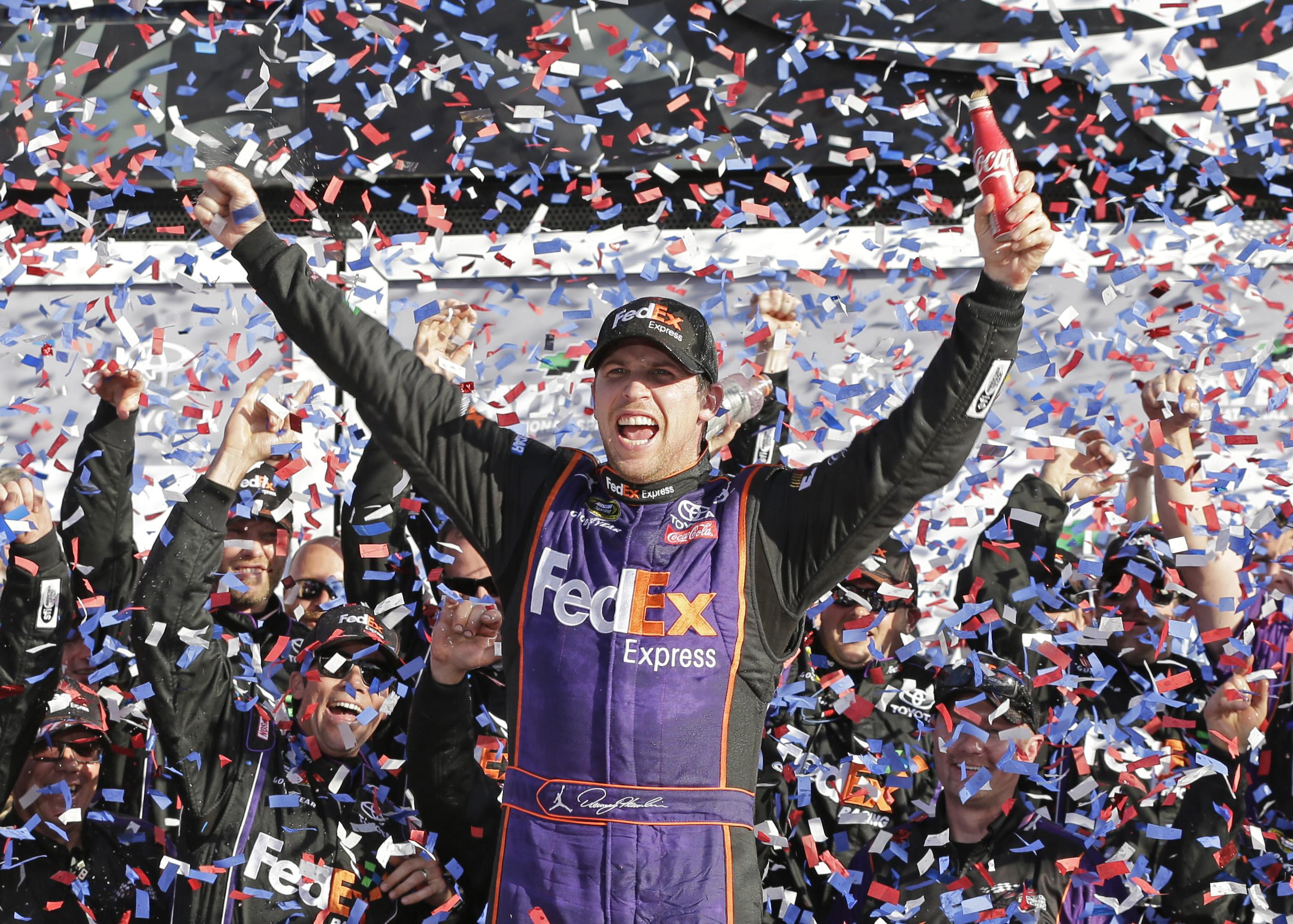 Hamlin uses daring move to give Joe Gibbs a Daytona 500 win | The ...