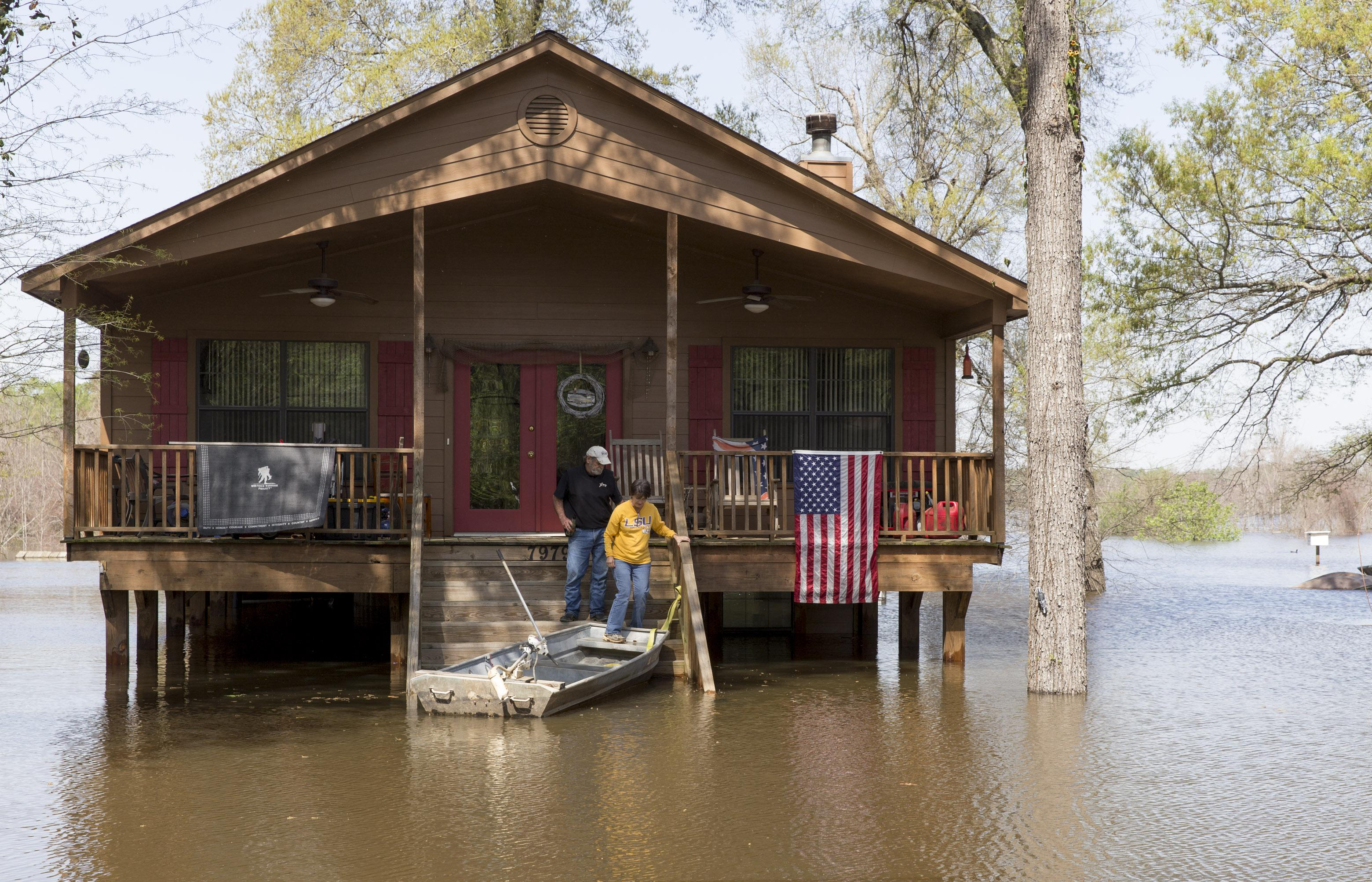Flooding Affects Thousands In Mississippi Louisiana The