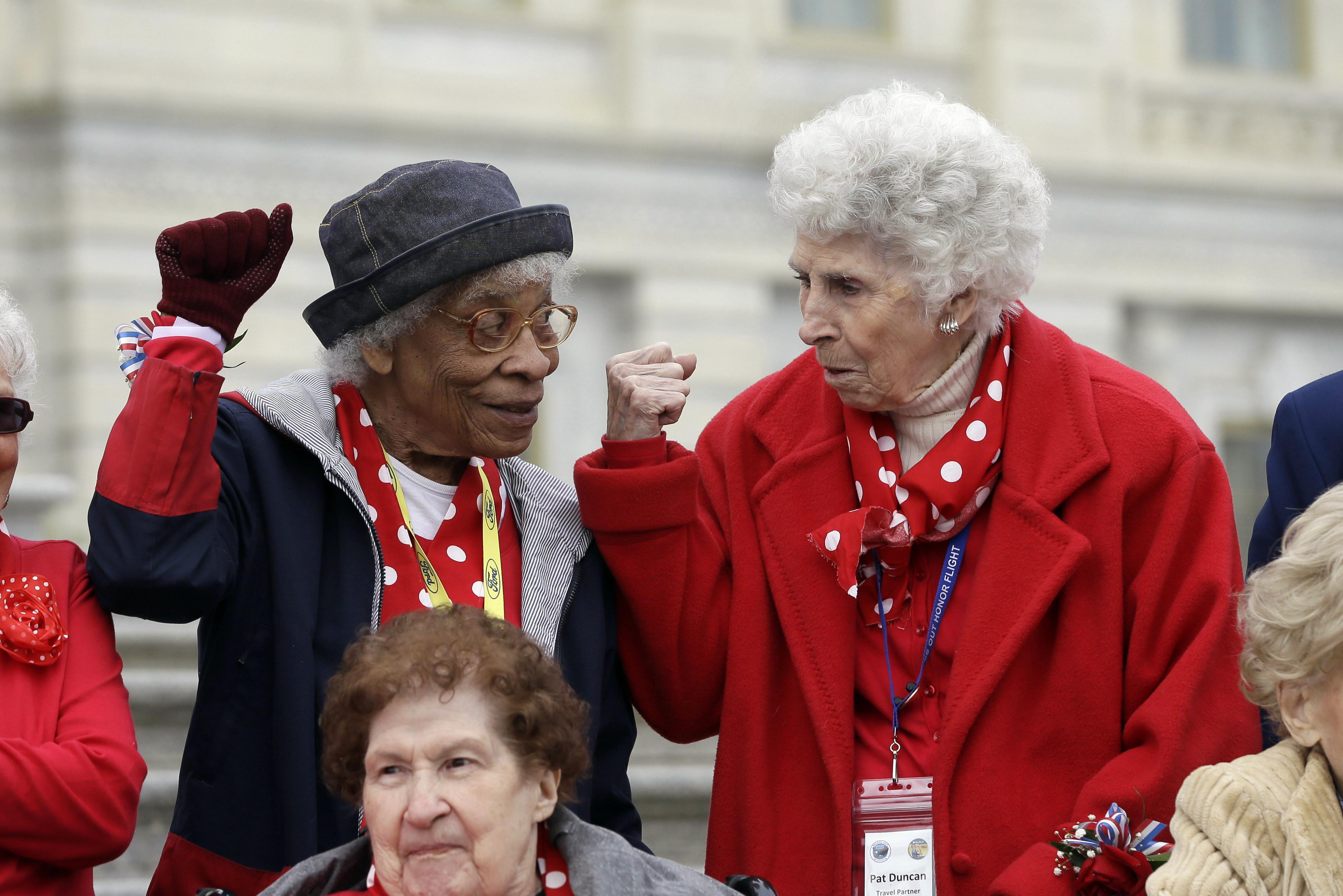 Rosie The Riveters Honored With Visit To Washington The Spokesman