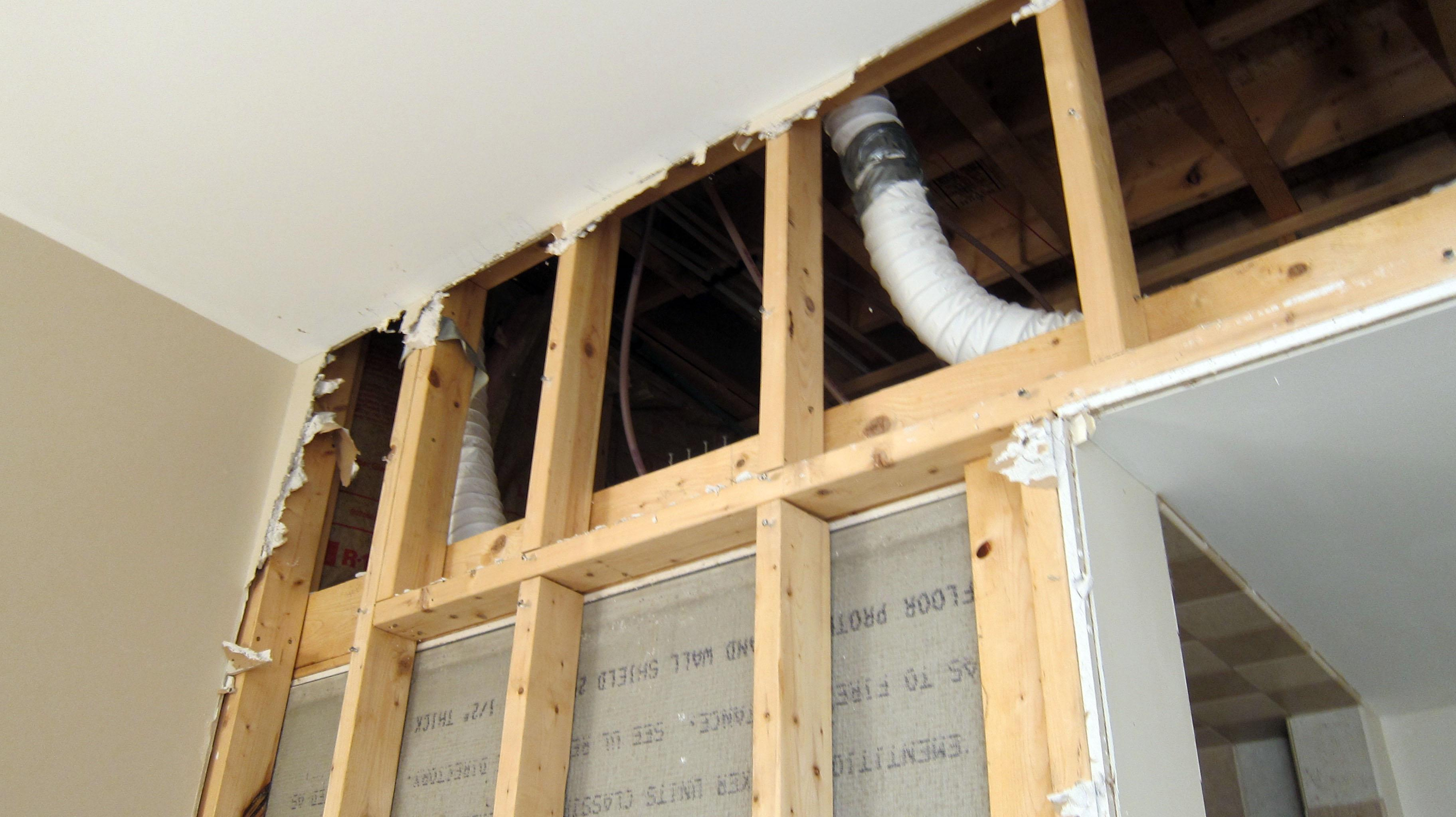 Poorly installed bath fan vents can cause serious problems for Bathroom venting into attic