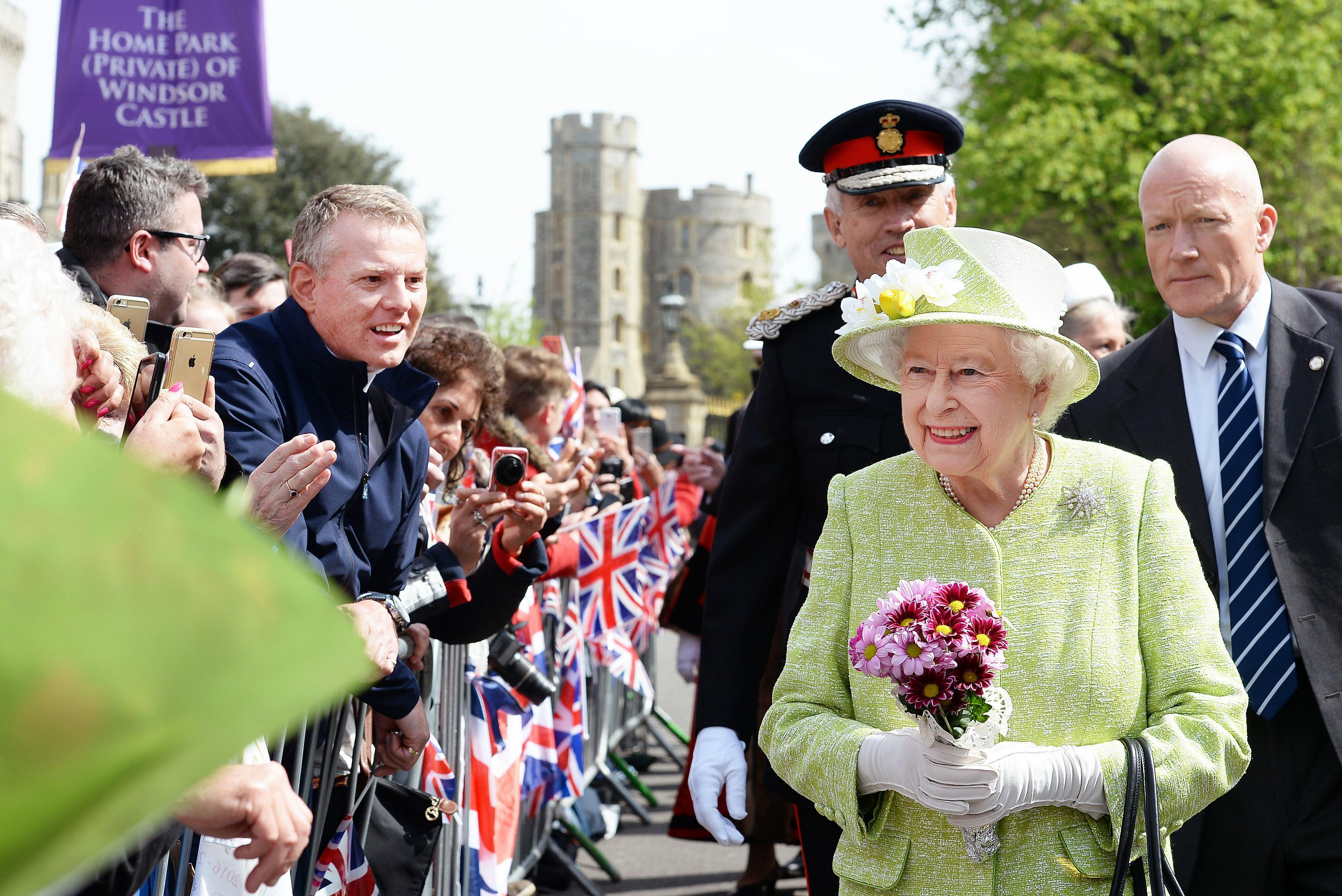 Поздравить королеву елизавету с днем рождения