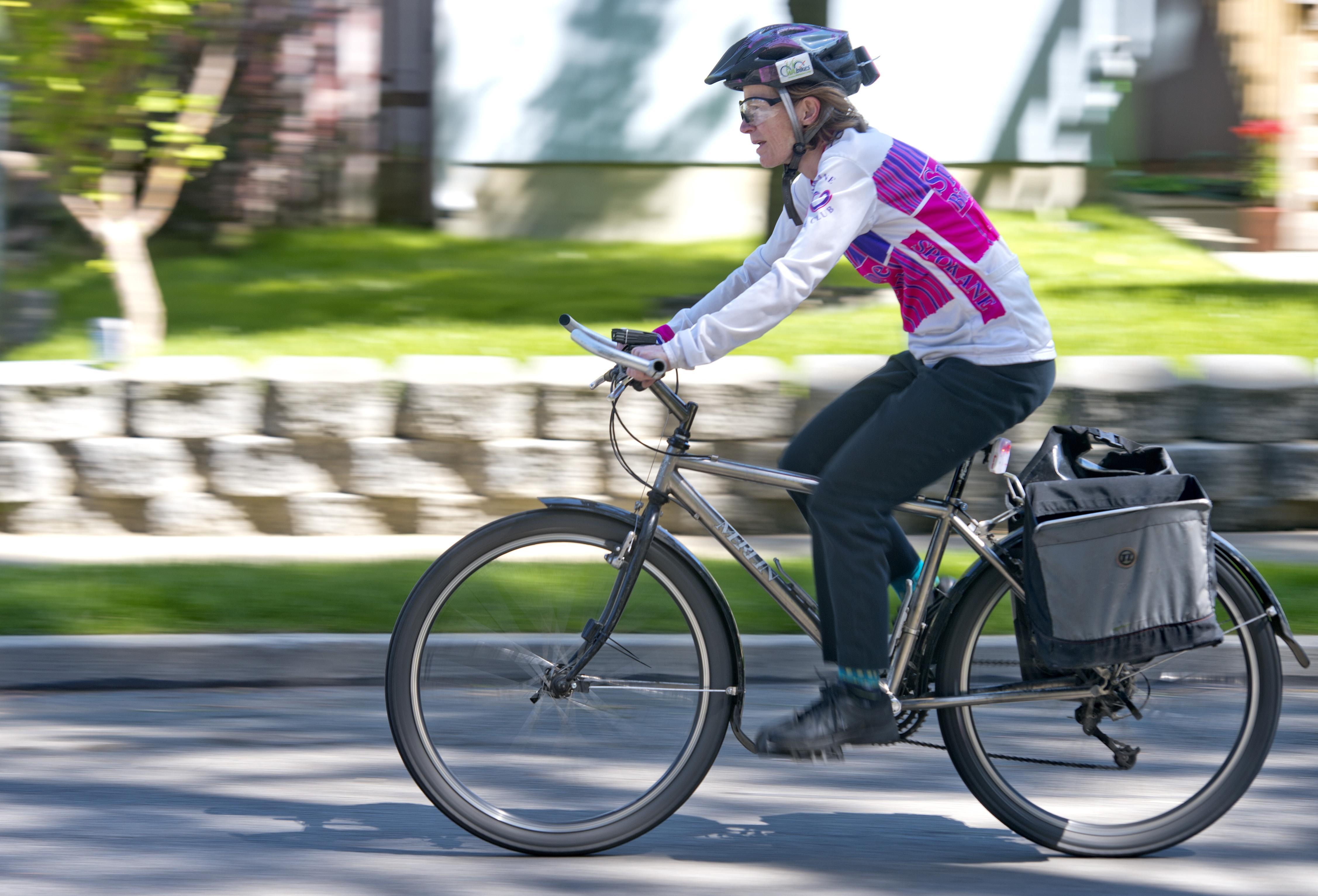 Bike To Work Week Puts Focus On Spokane S Growing Bicycle Routes