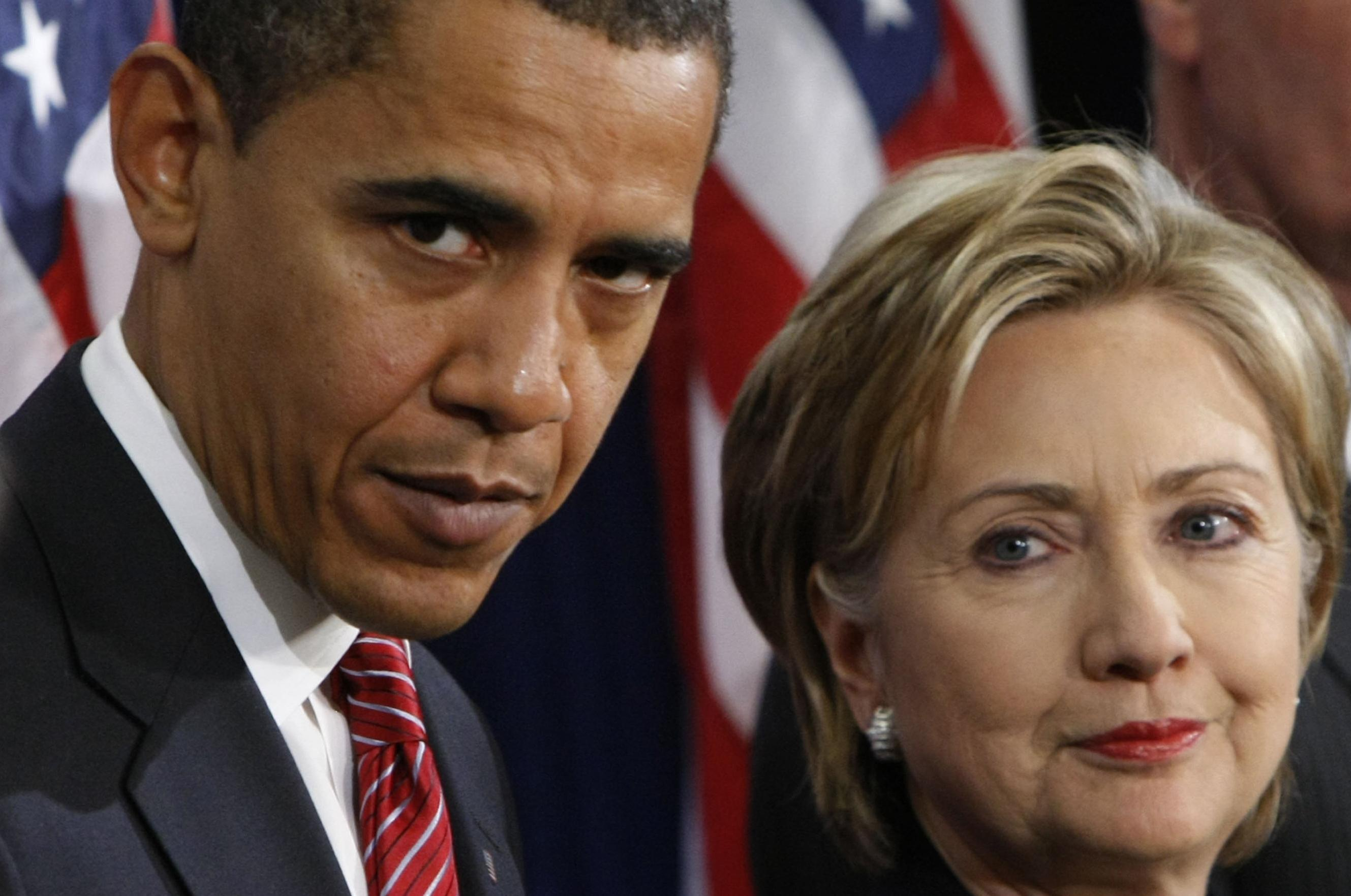 President Obama Backs Clinton Nudges Sanders