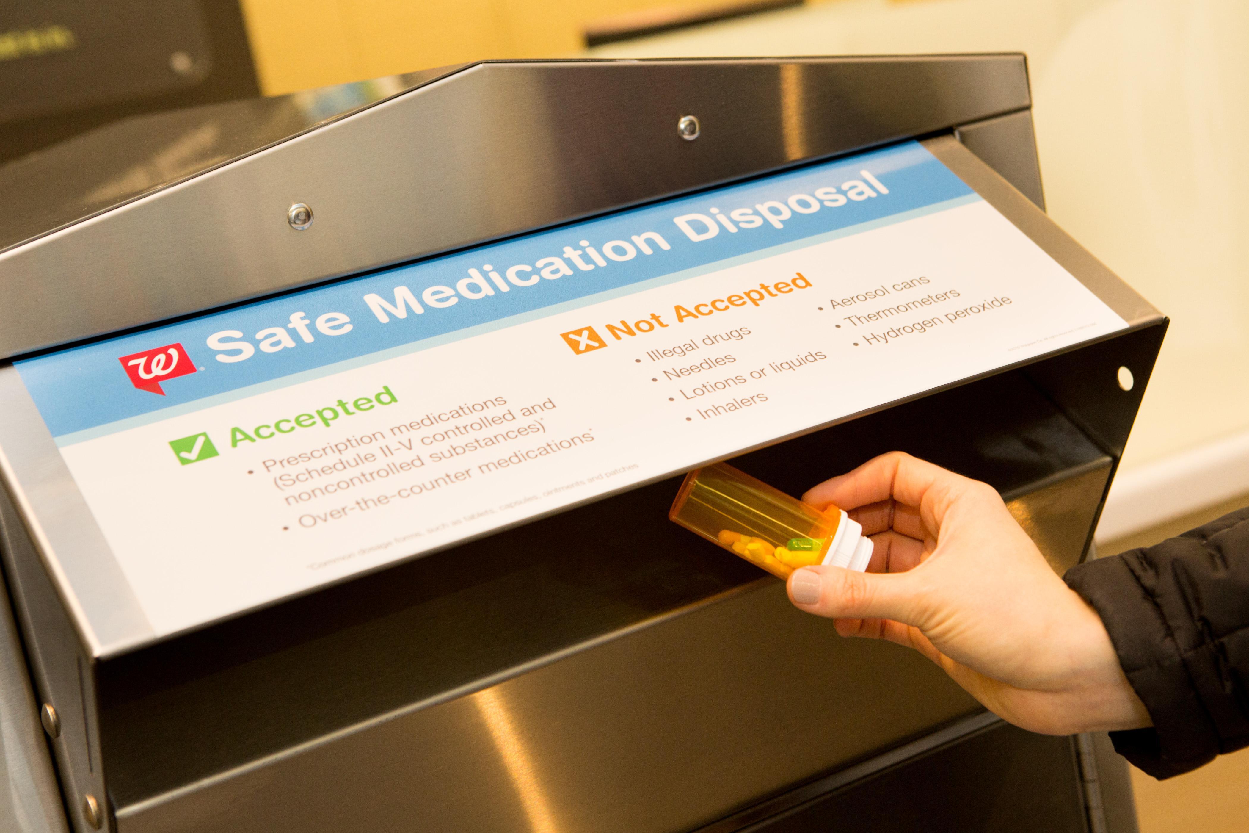 safe medication disposal kiosks will soon be available at 10 walgreens stores in washington - Walgreens Prescription Card