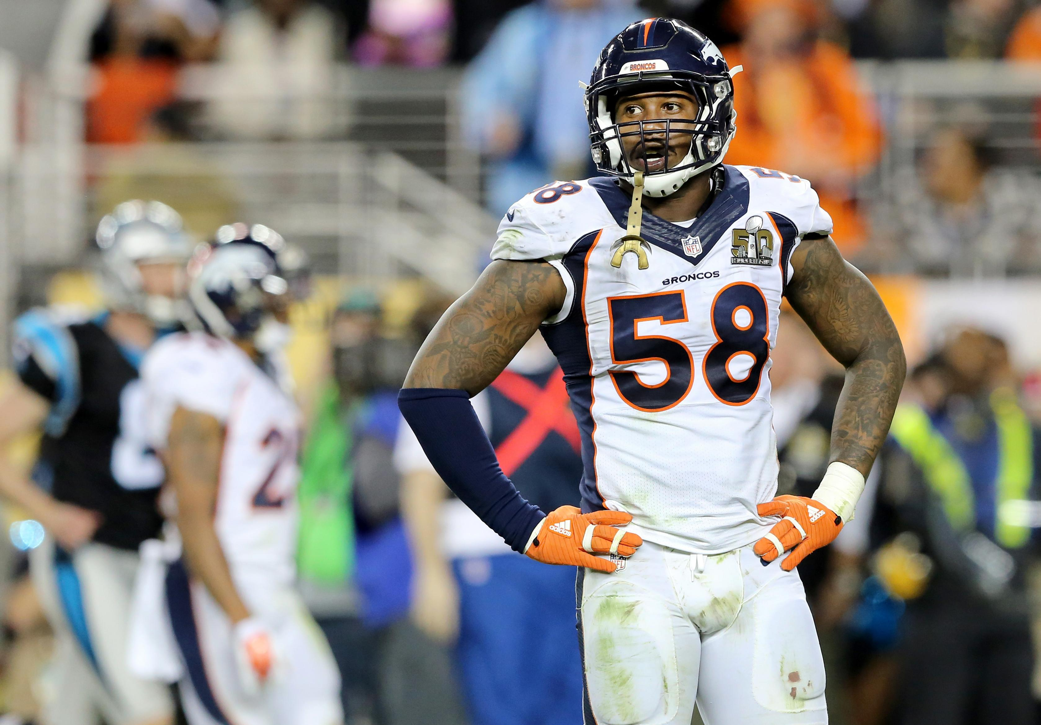 b3d13dc5af9 Super Bowl 50 MVP Von Miller is unhappy with the progress of a new contract  with