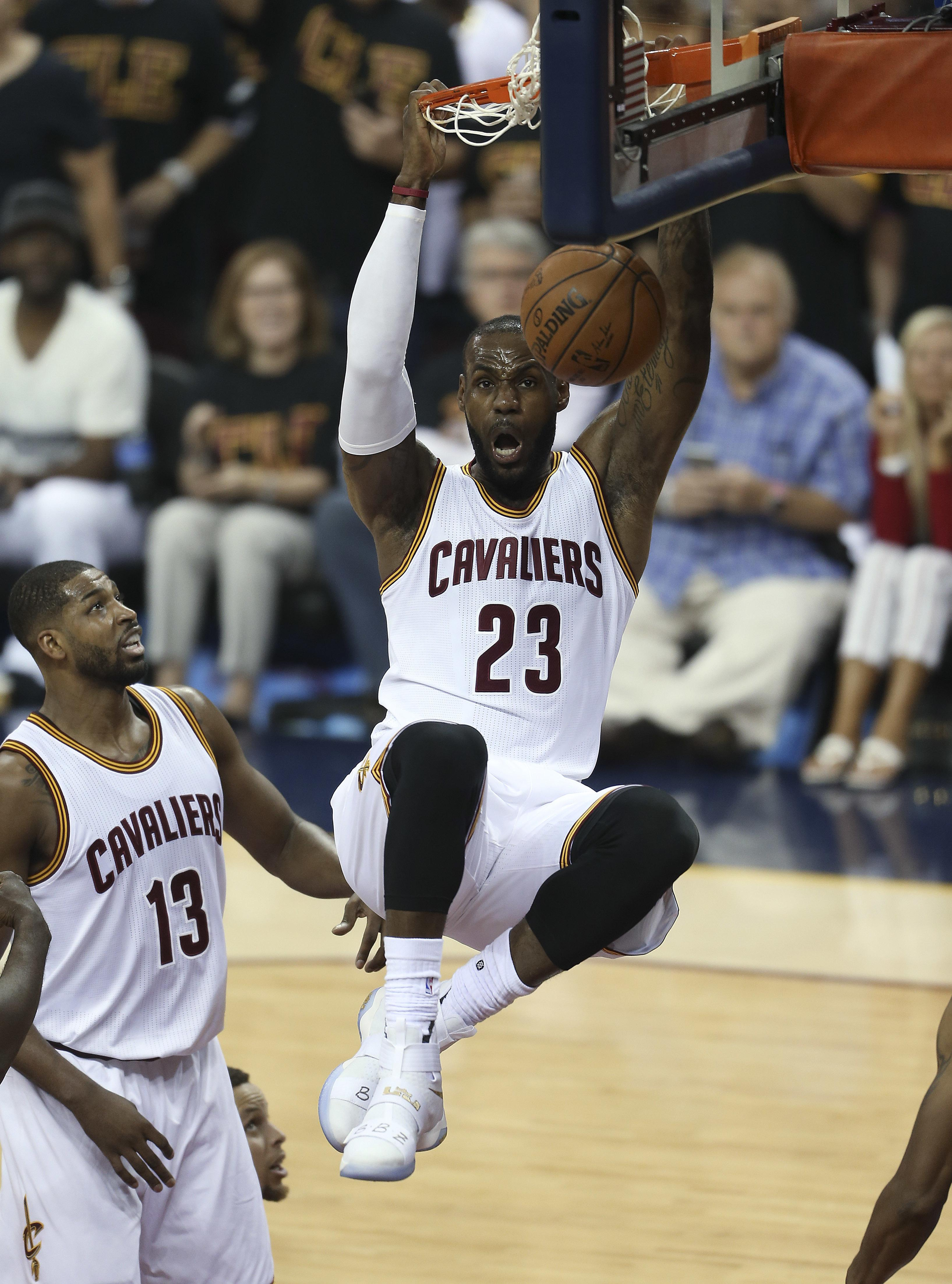 09506aed3463 LeBron a free agent after declining option on contract