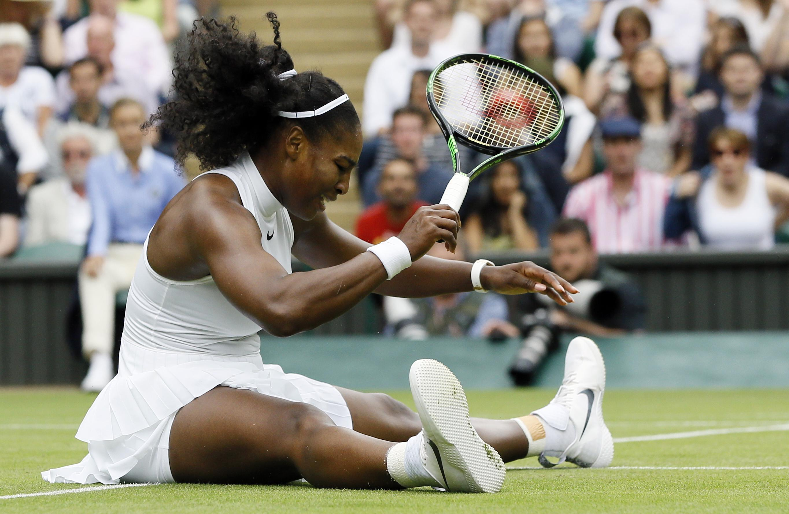 serena williams slip