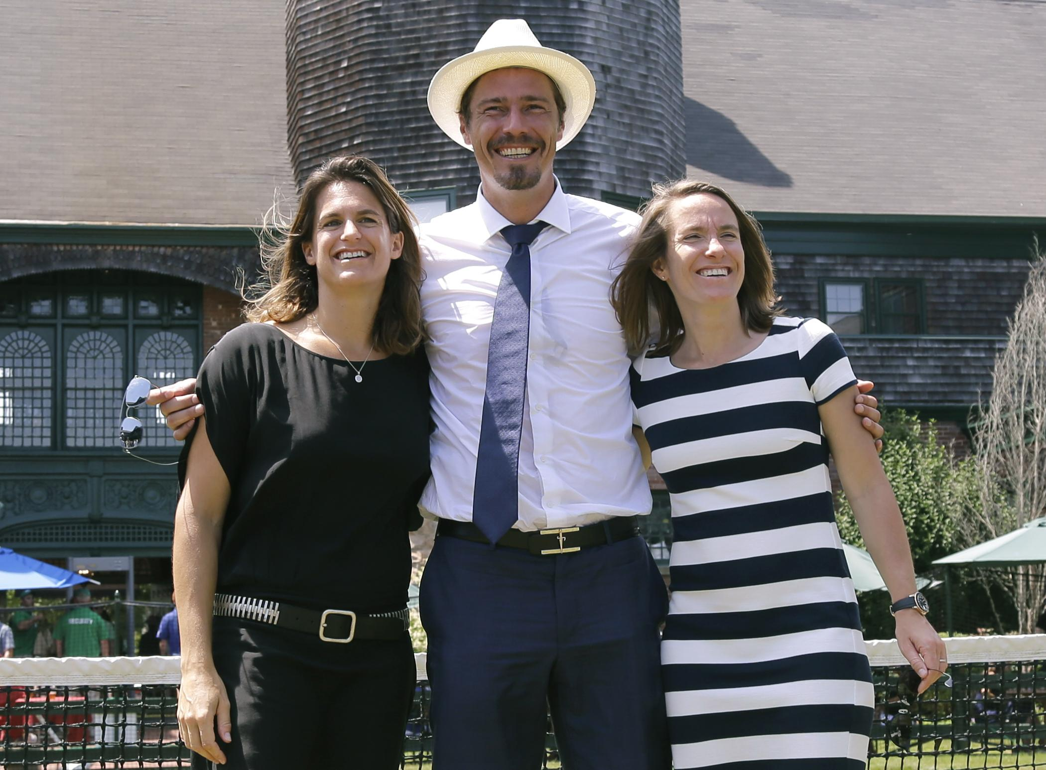 Marat Safin Justine Henin inducted into International Tennis Hall
