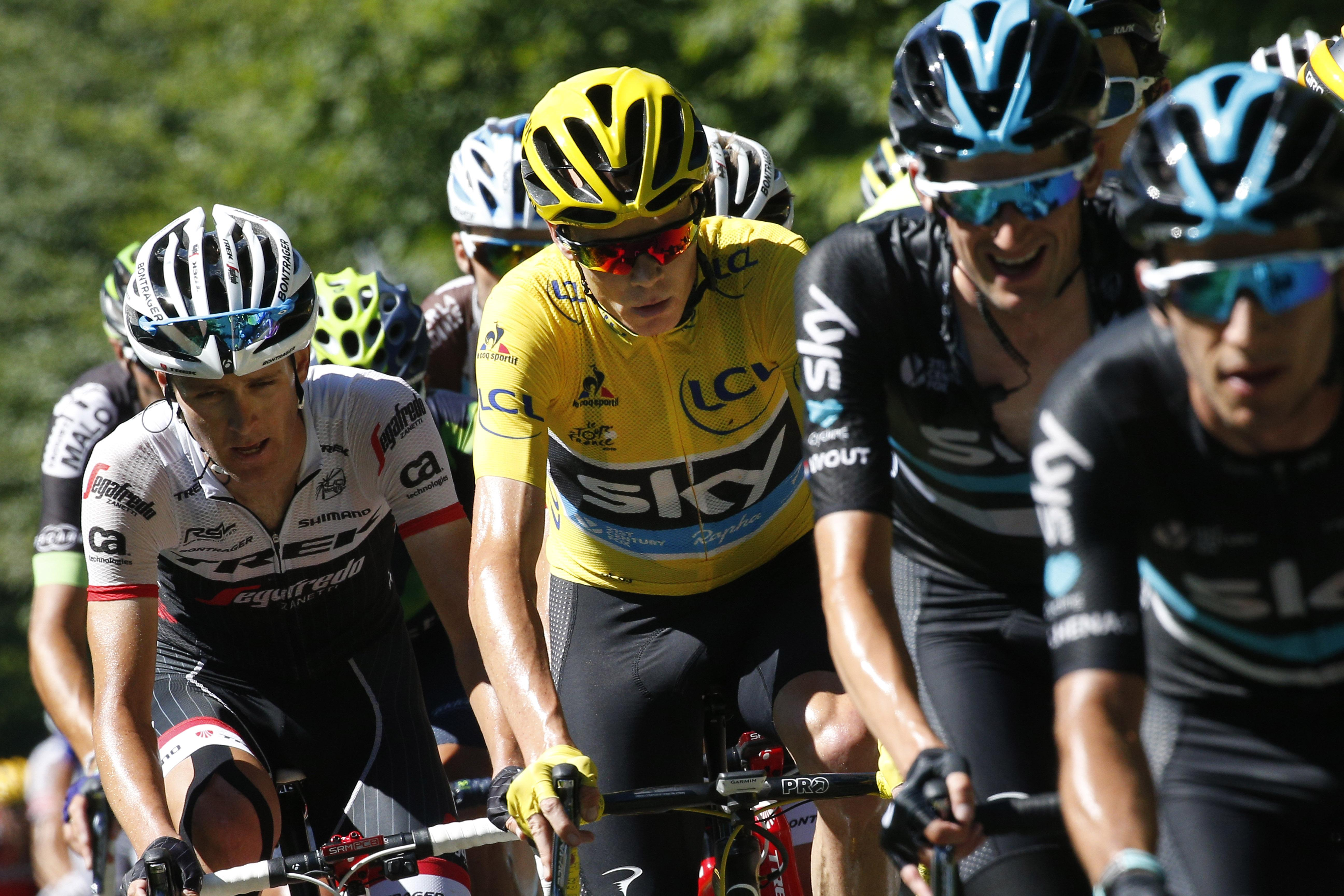 4b51041bf Froome tames his rivals in mountain stage at Tour de France