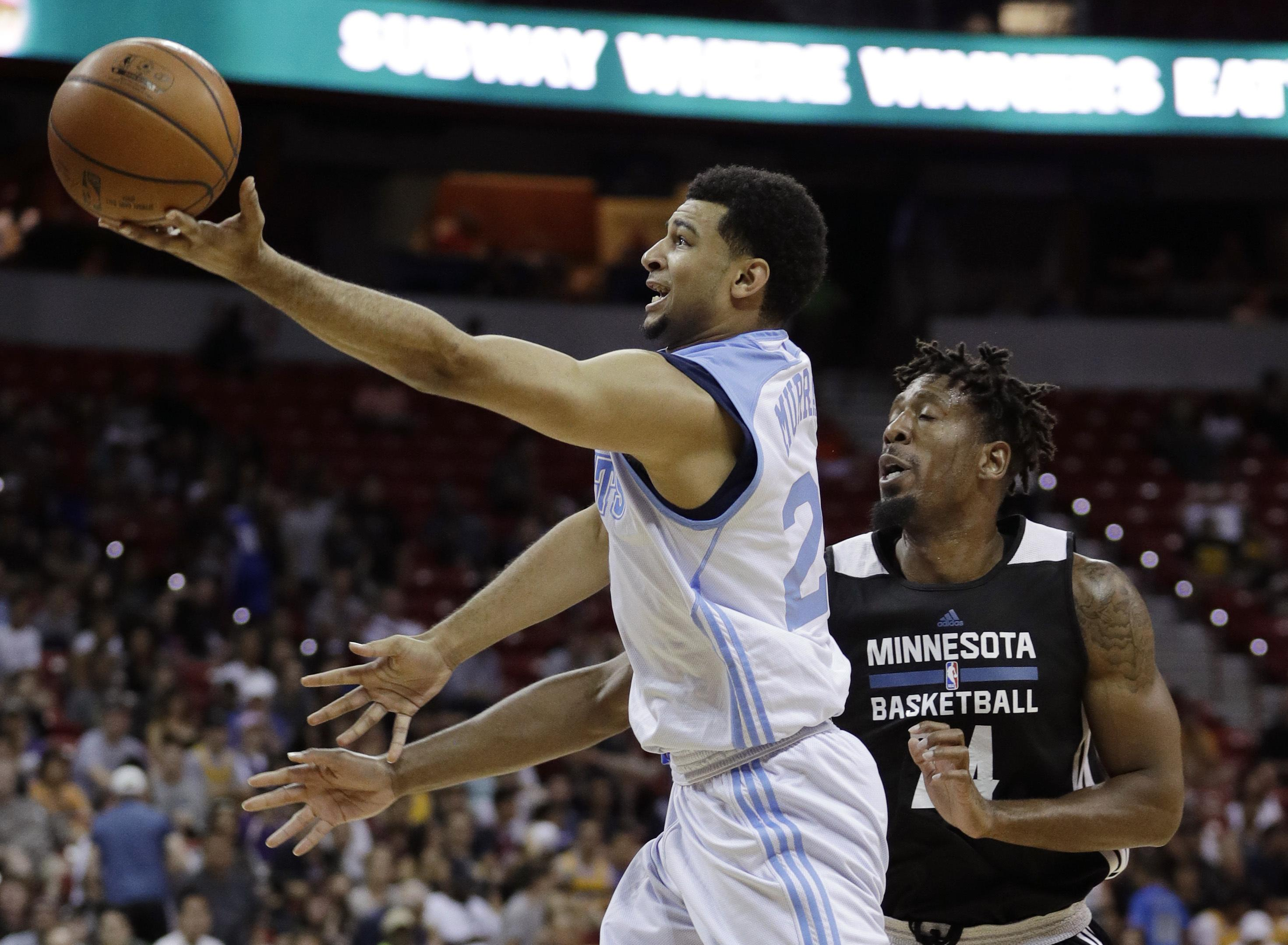 08e067b0c The Denver Nuggets signed first-round selection Jamal Murray to a two-year  contract