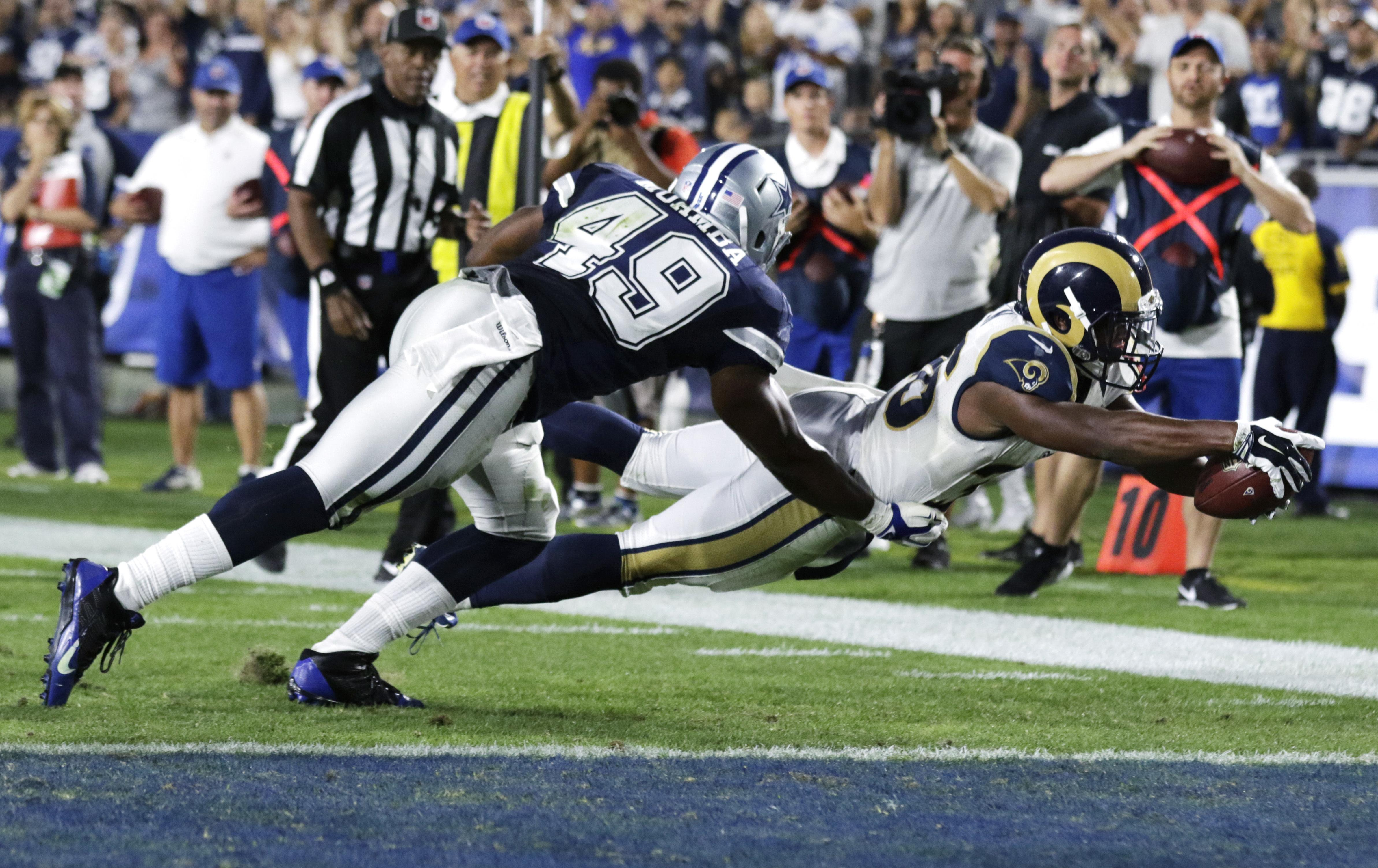 8b9bc418 NFL roundup: Rams edge Cowboys in return to Los Angeles | The ...