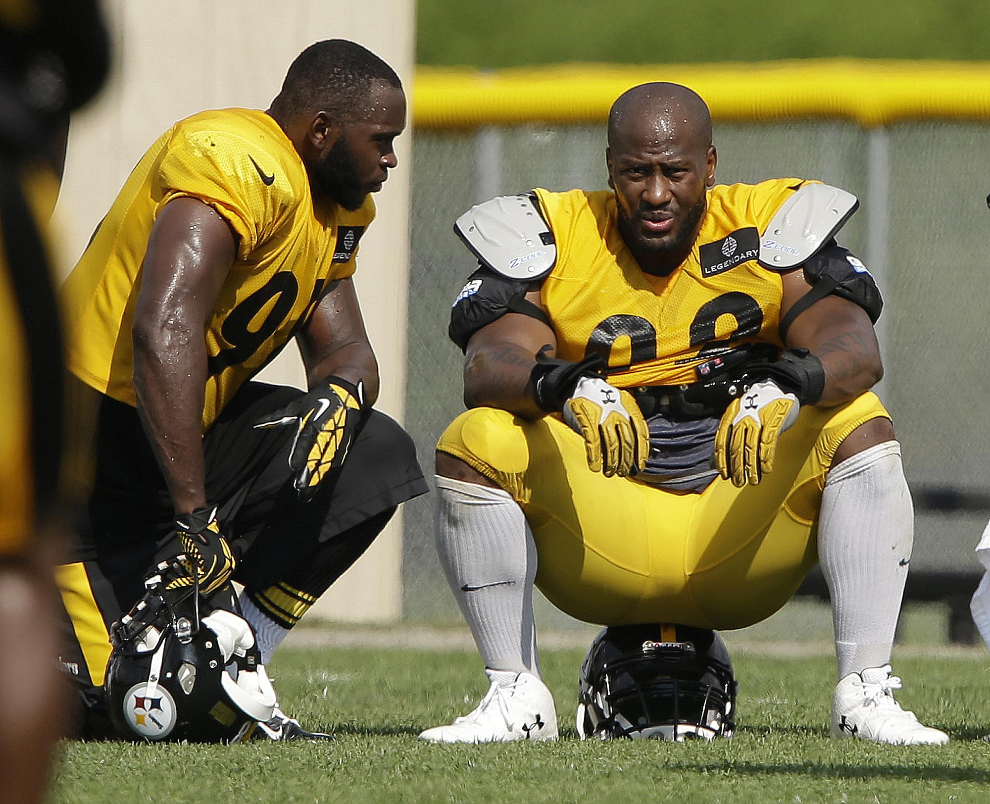 31016d137eb Pittsburgh s James Harrison is willing to discuss Al-Jazeera s allegations  of PED use
