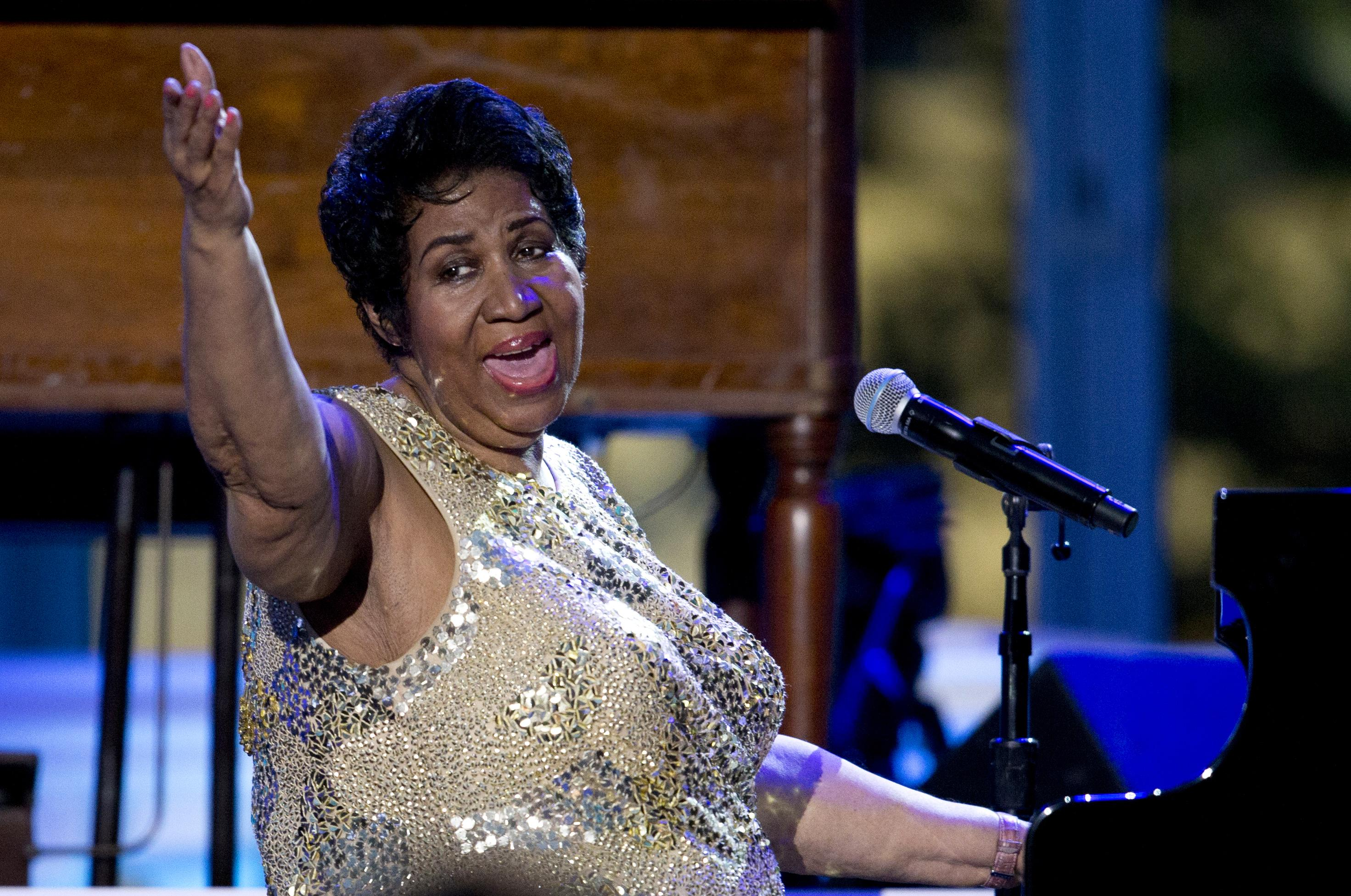 Aretha Franklin Canceling Performances To Rest Up The