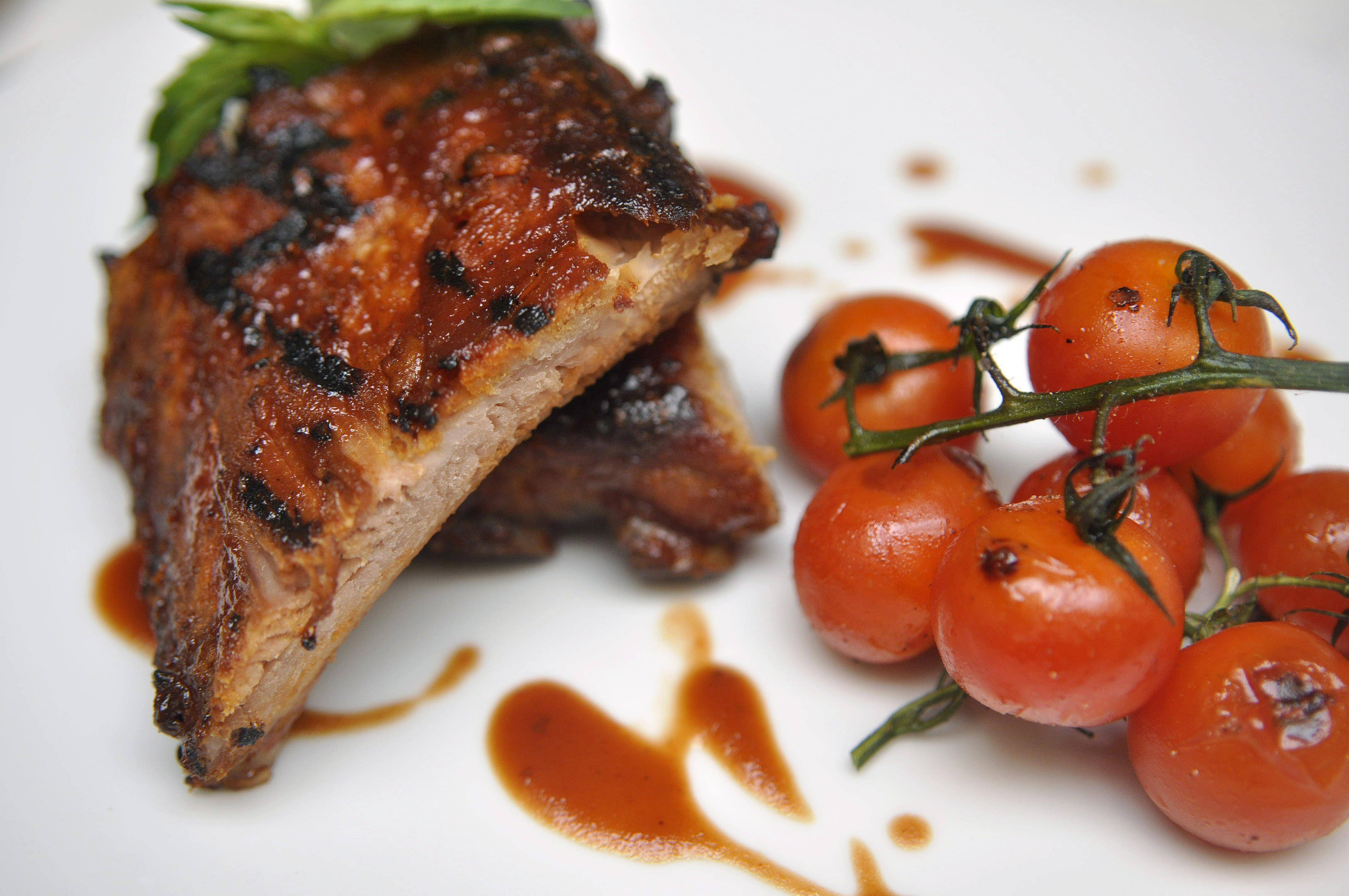 These Tender Ancho Rubbed Ribs With Charred Cherry Tomatoes Are One Of The  Most Popular