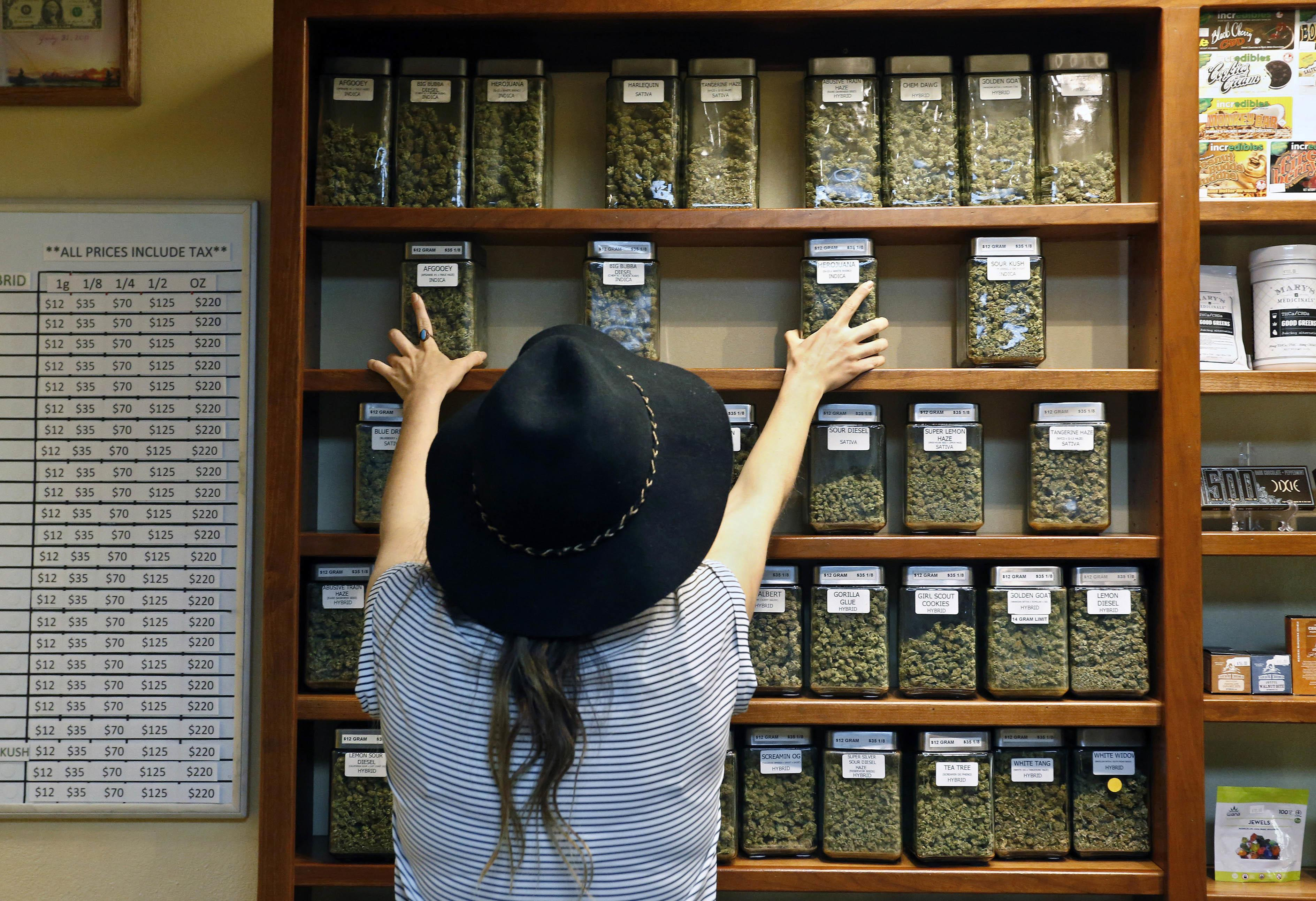 More U.S. adults use marijuana