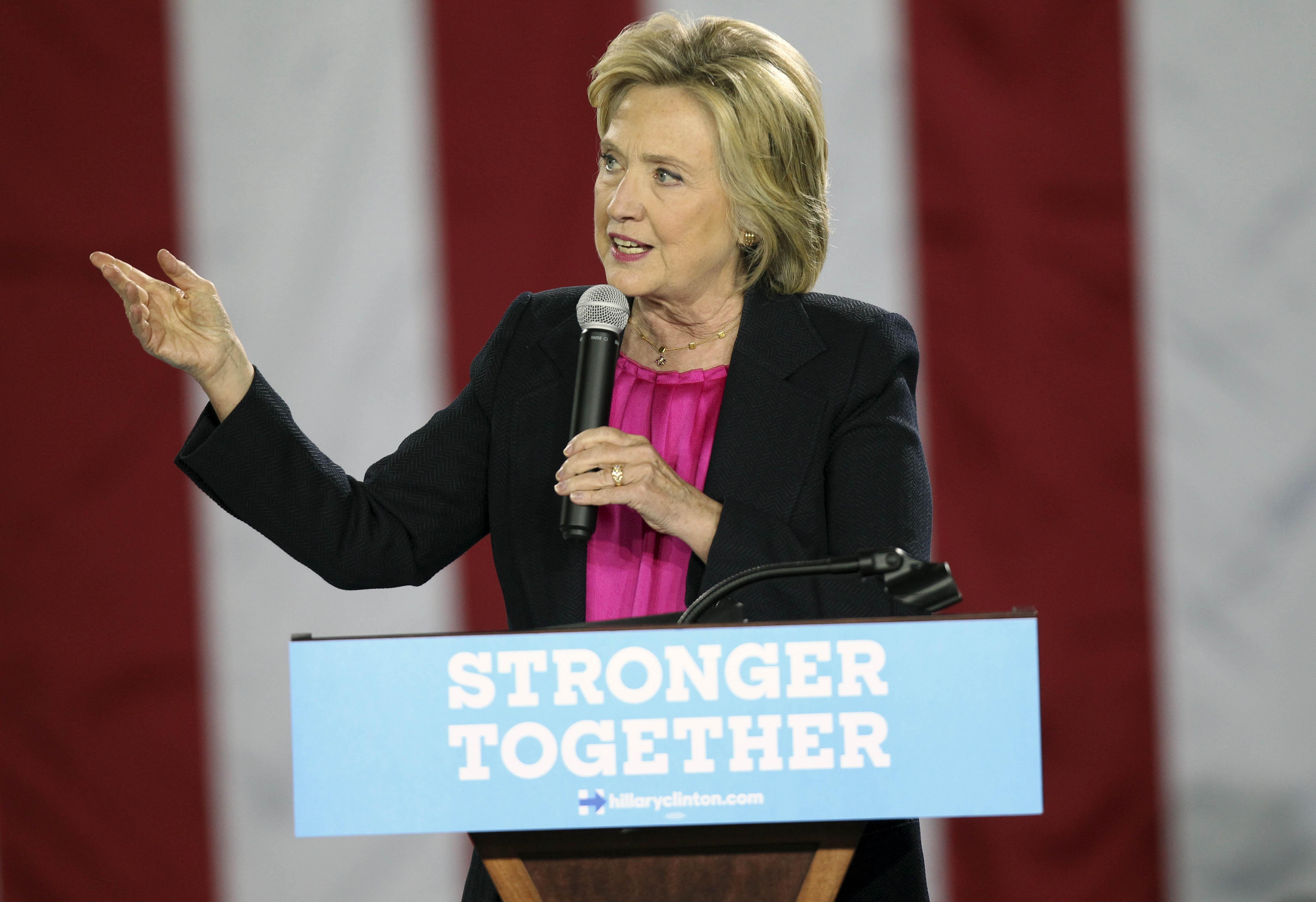 Hillary Clinton regrets calling half of Donald Trump backers deplorable