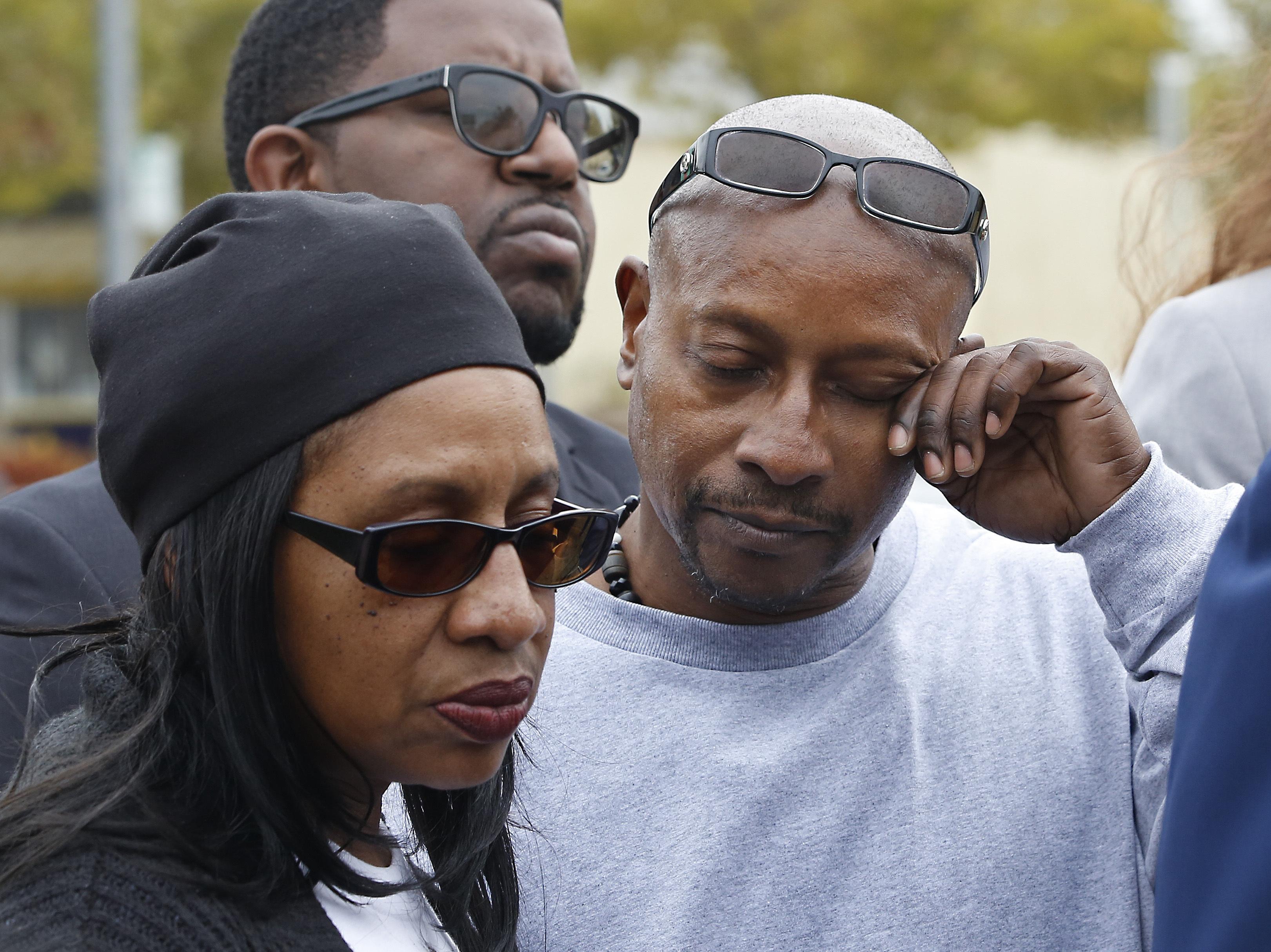 Family of black man shot 14 times by Sacramento