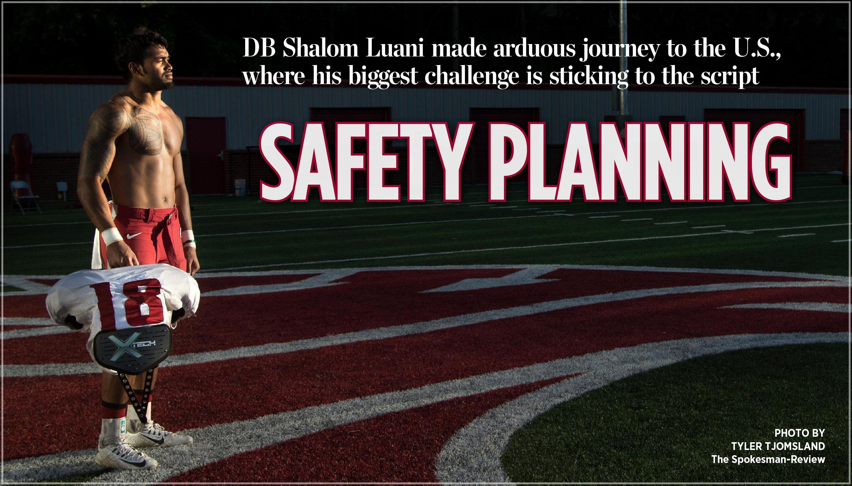 Shalom Luanis Bad Choice Almost Derailed Wsu Football Career