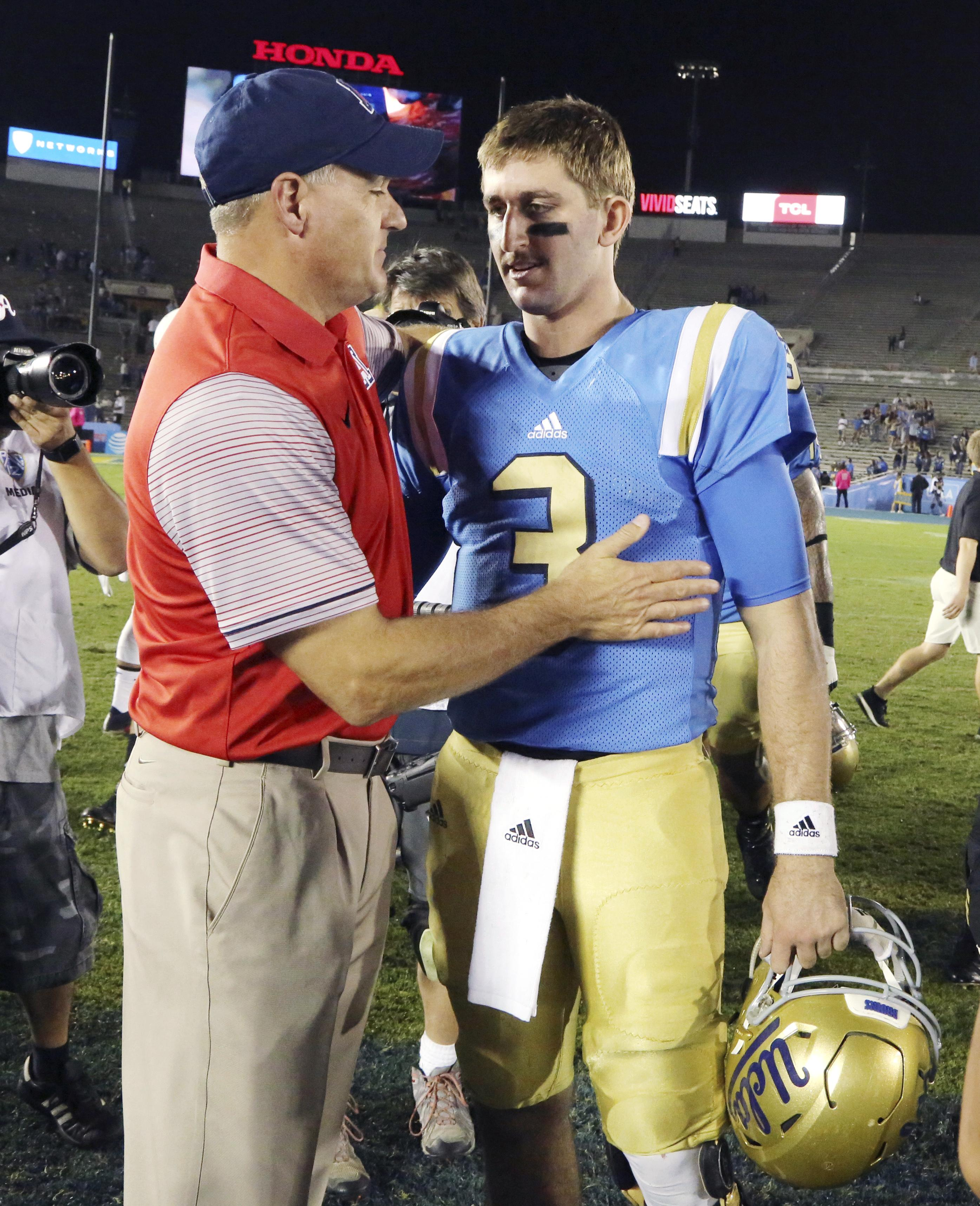 UCLA's Mora considers Rosen's long-term health
