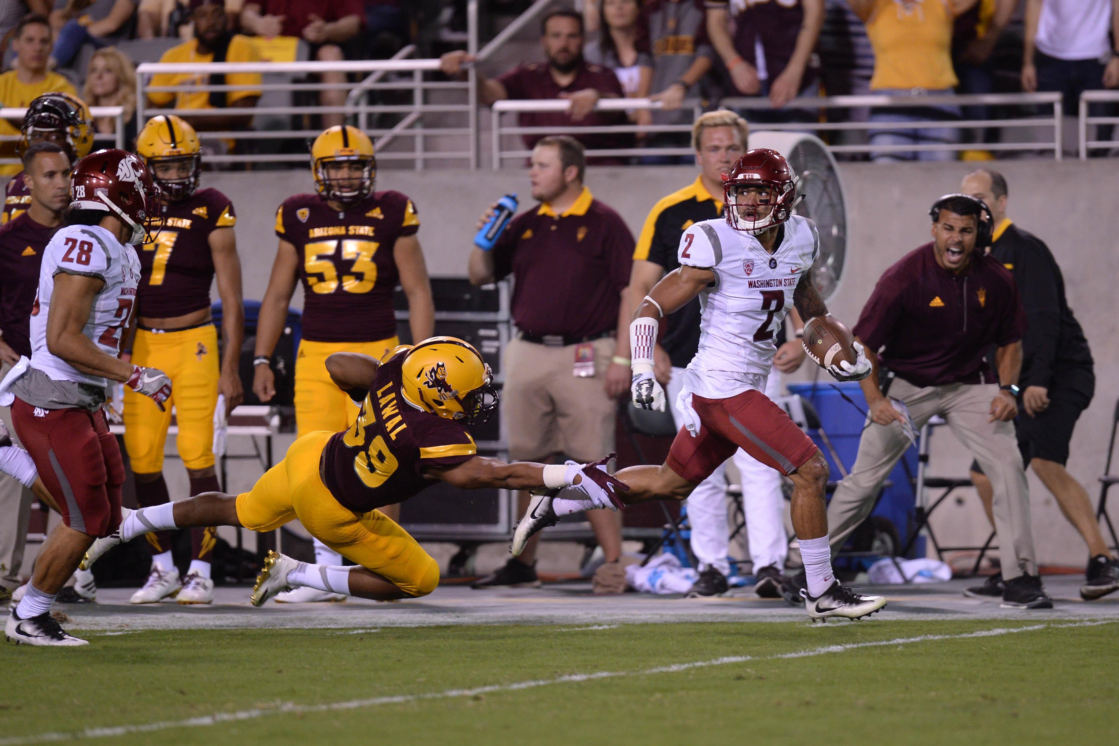 WSU-ASU Notes: Robert Taylor's Kickoff Return For TD First