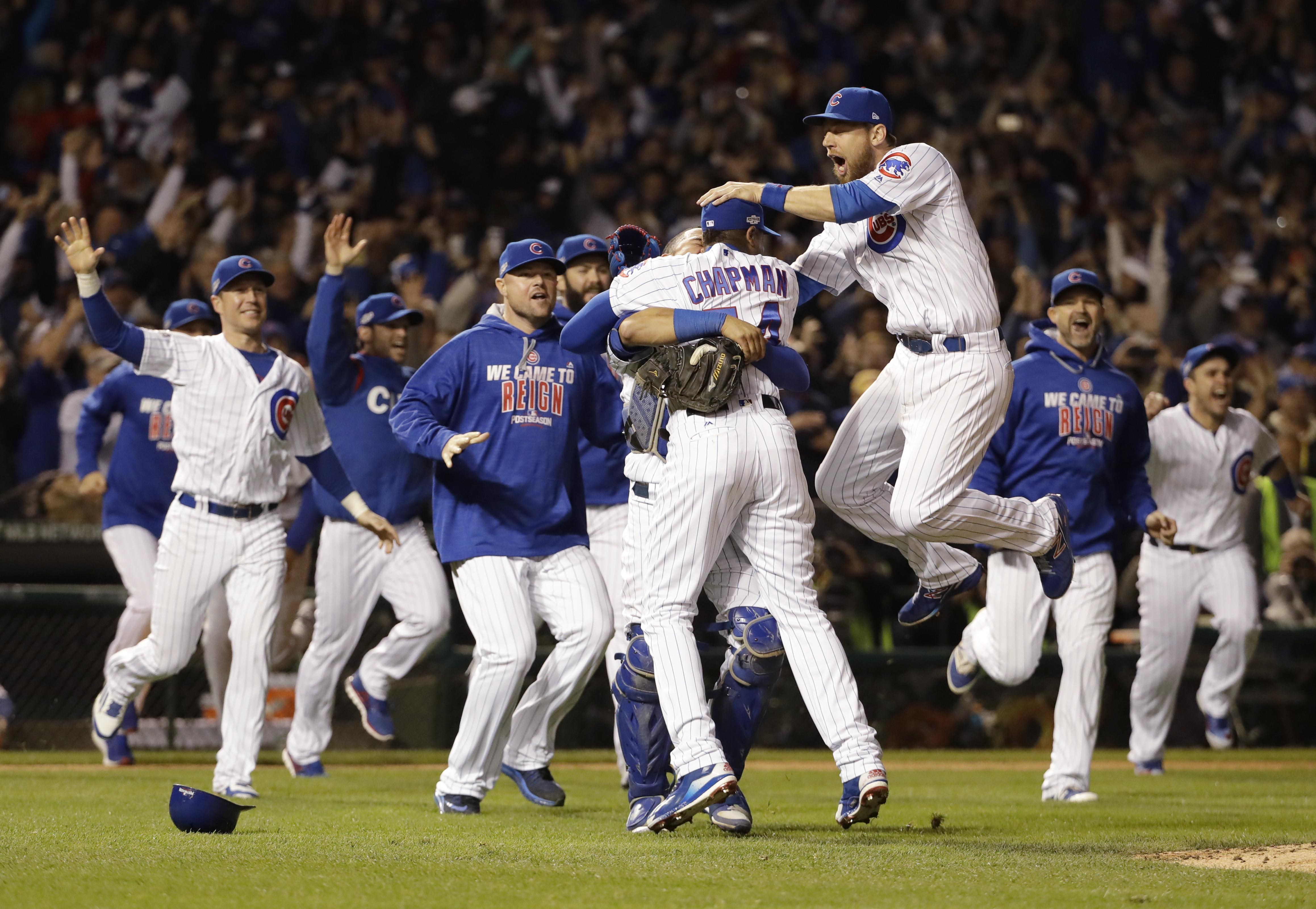 At long last, Chicago Cubs are World Series bound