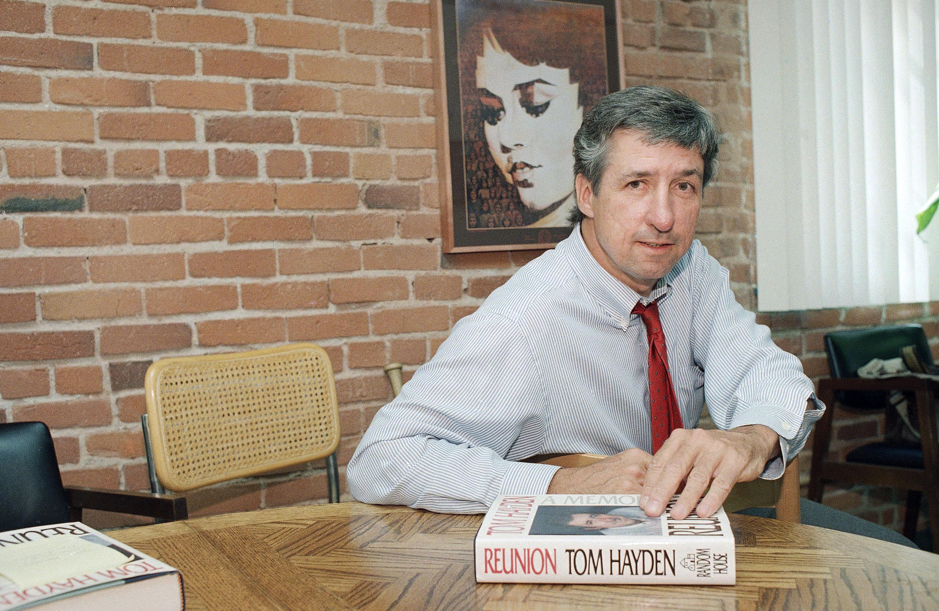 Tom Hayden: Peace activist, lawmaker, teacher, author