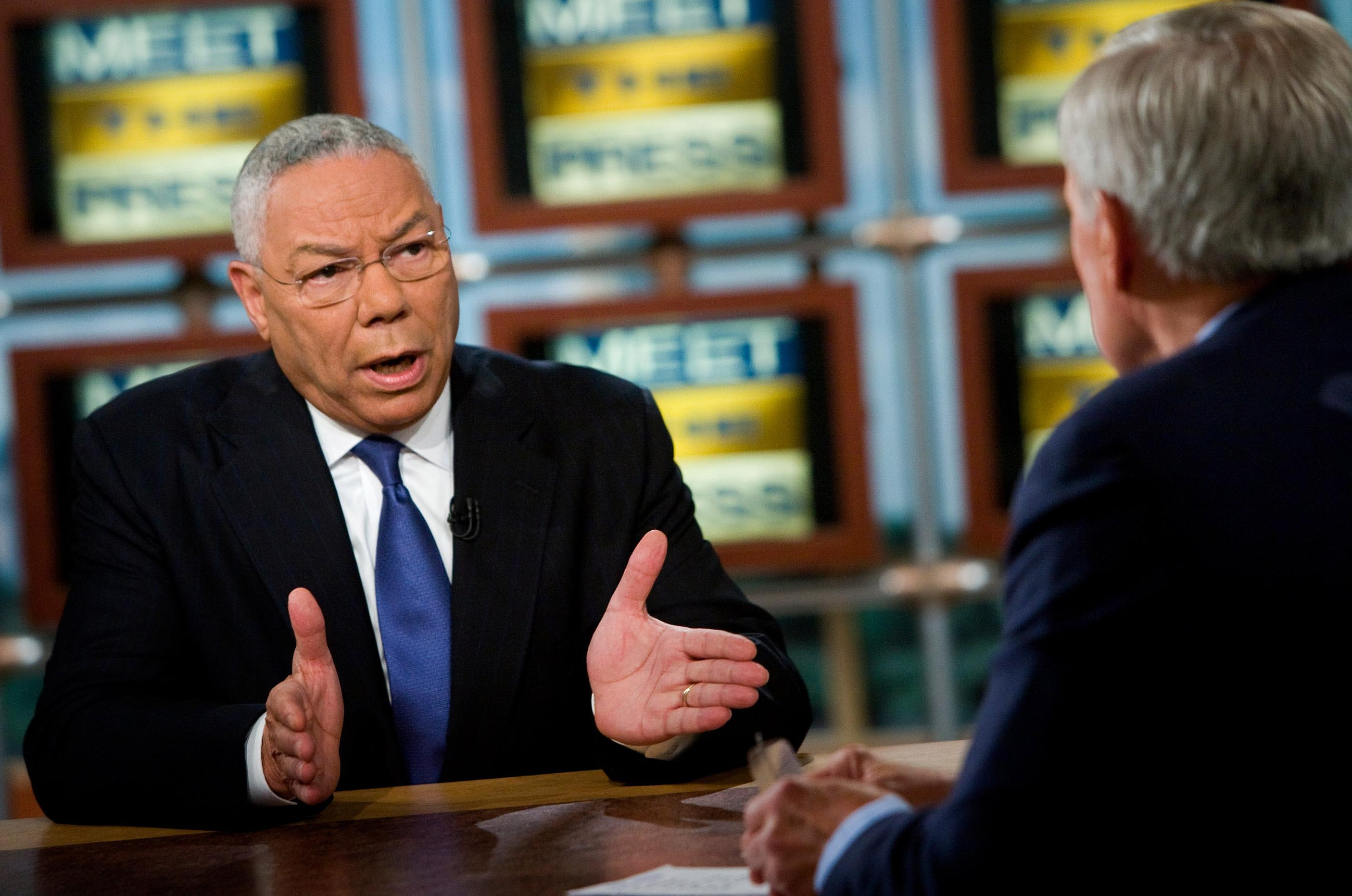 colin powell on meet the press october 19 2008