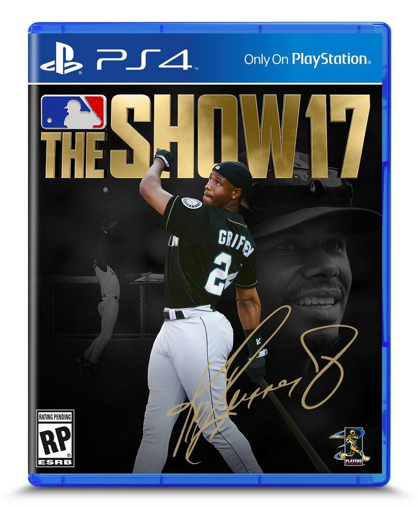 MLB The Show 17 Cover Athlete Revealed: Ken Griffey Jr