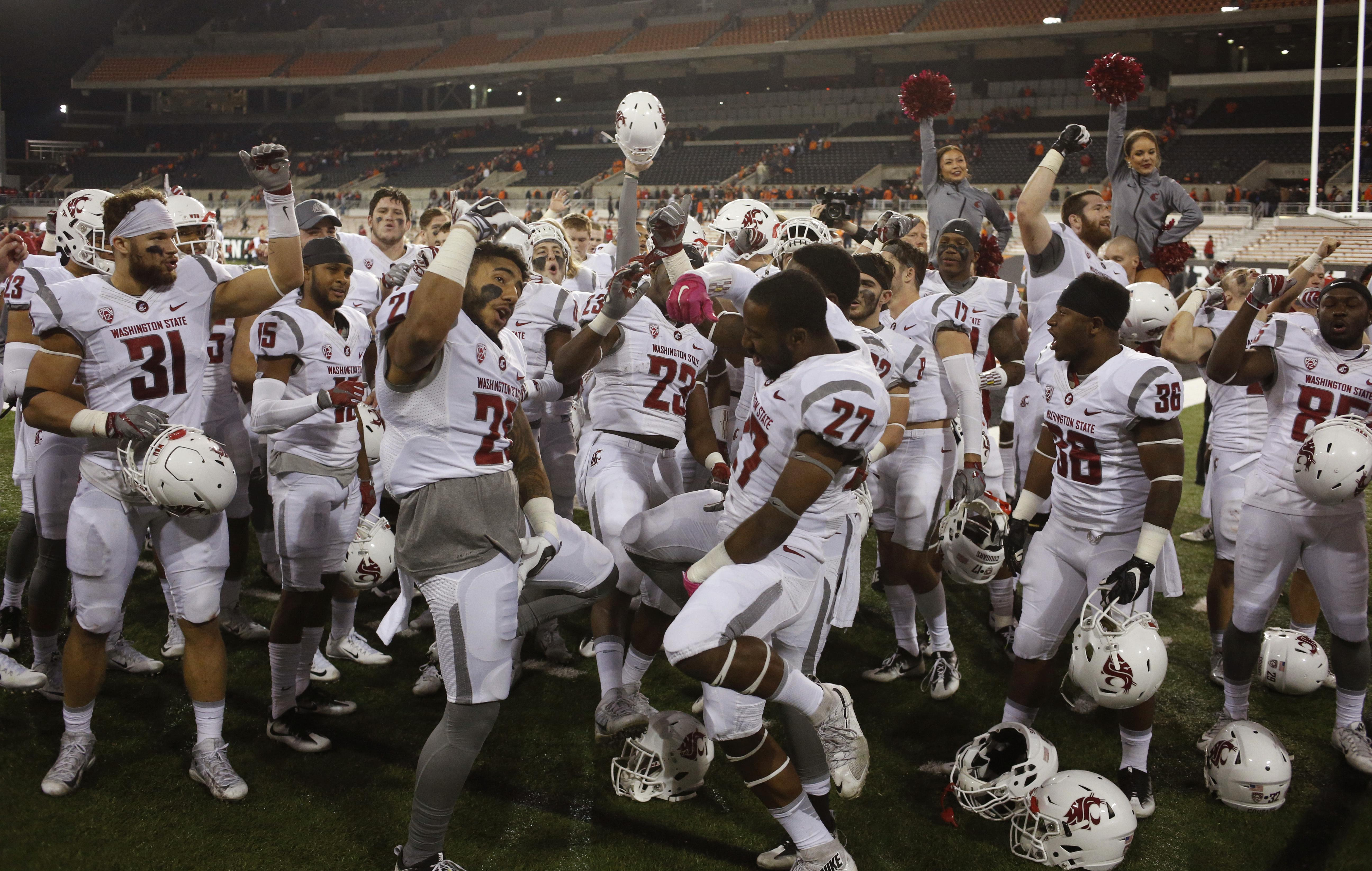 No 25 Wsu Enters Ap Ranking For First Time In 2016 The Spokesman
