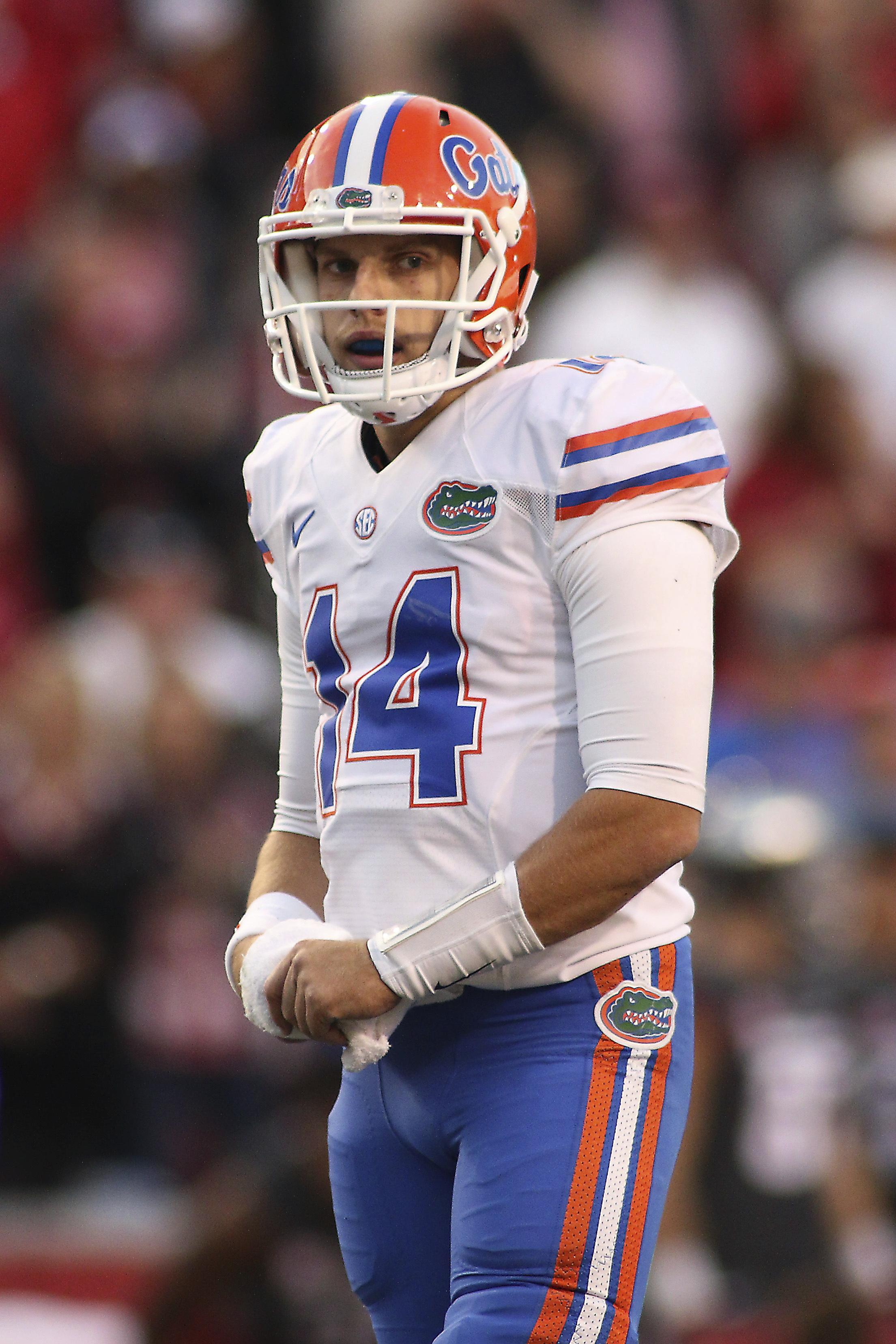 22 Florida Gators Could Be Without Quarterback Luke Del Rio For The Rest