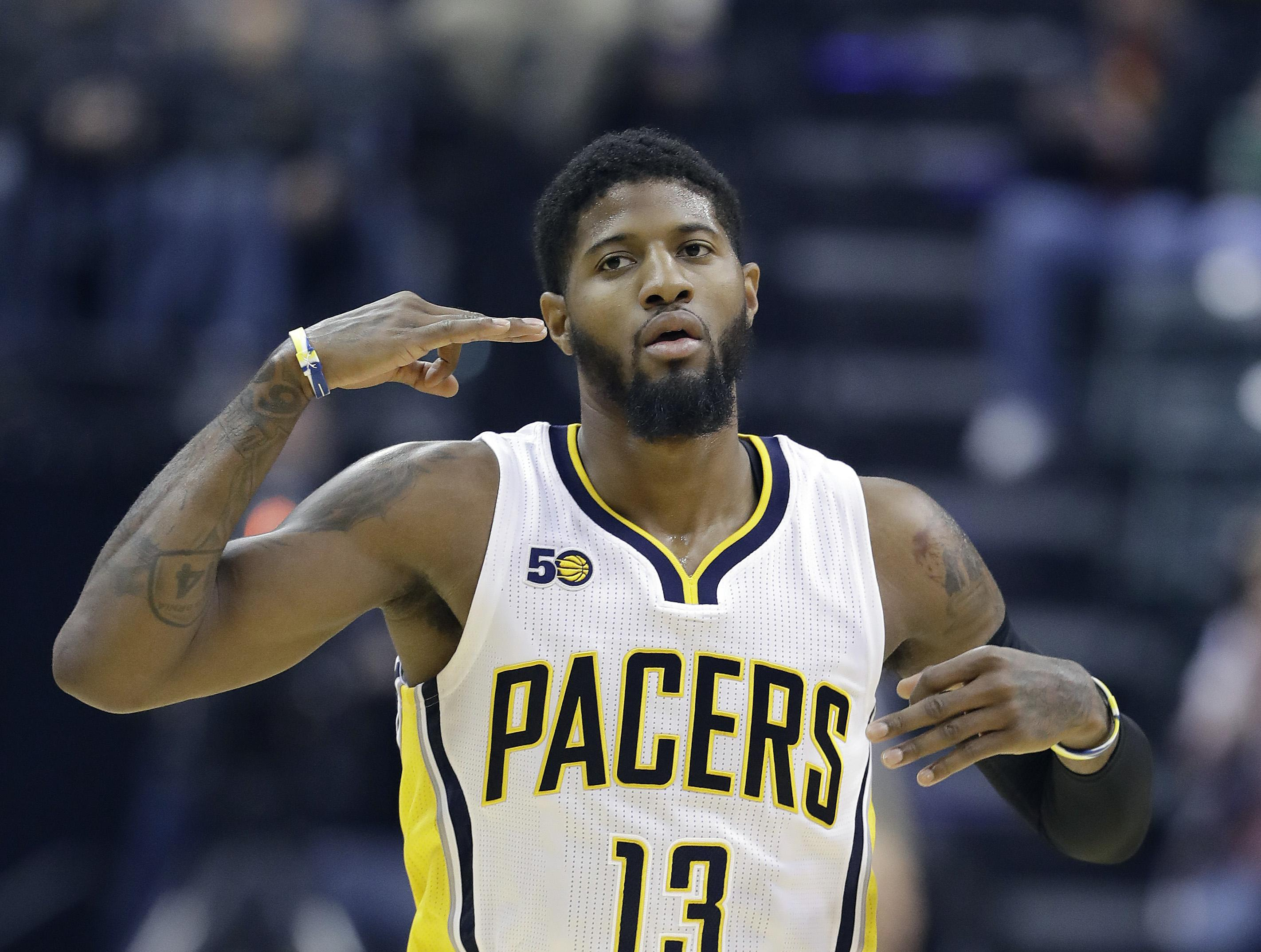 2c00363256e Pacers forward Paul George has reportedly told the team that he plans to  leave when he