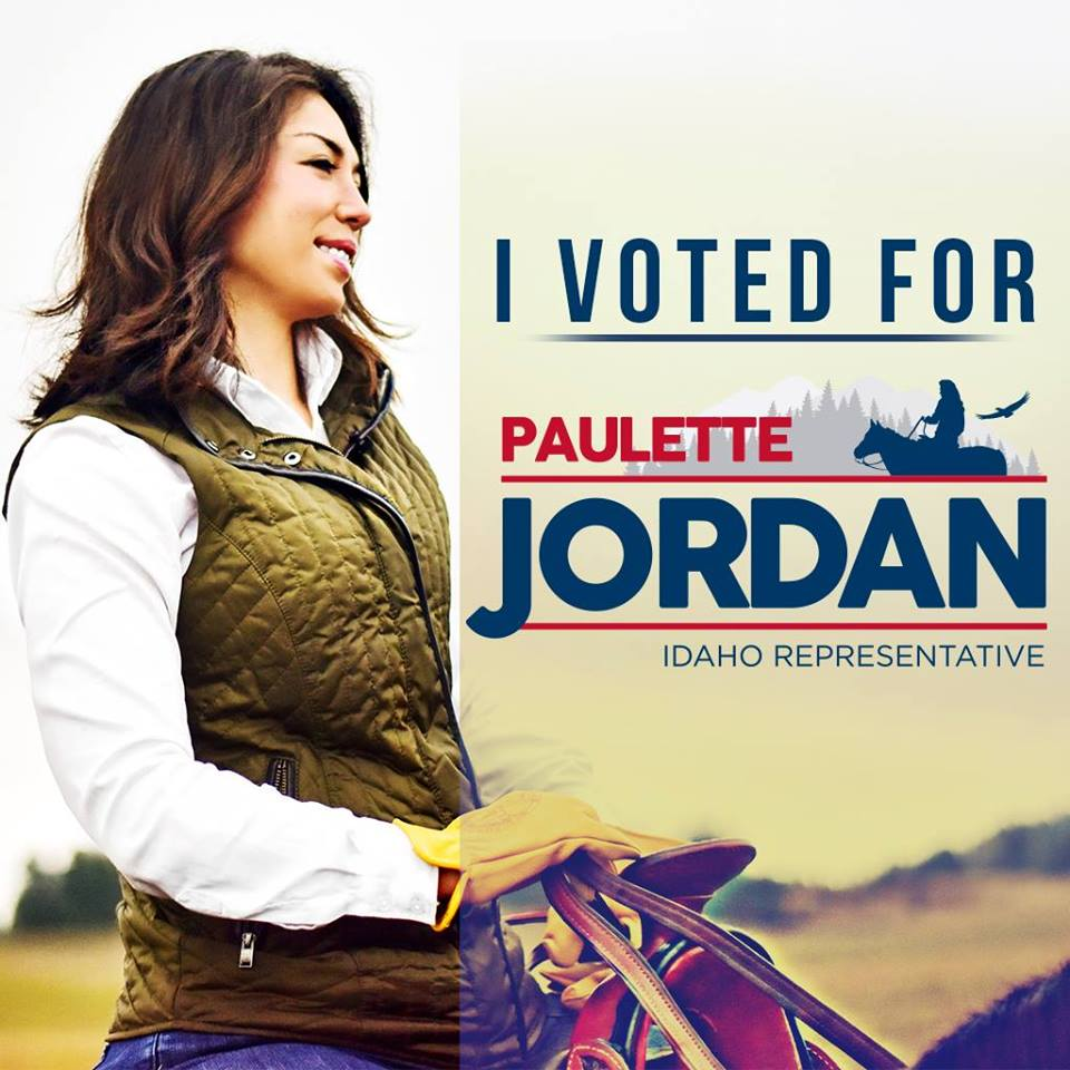 Image result for photos paulette jordan idaho