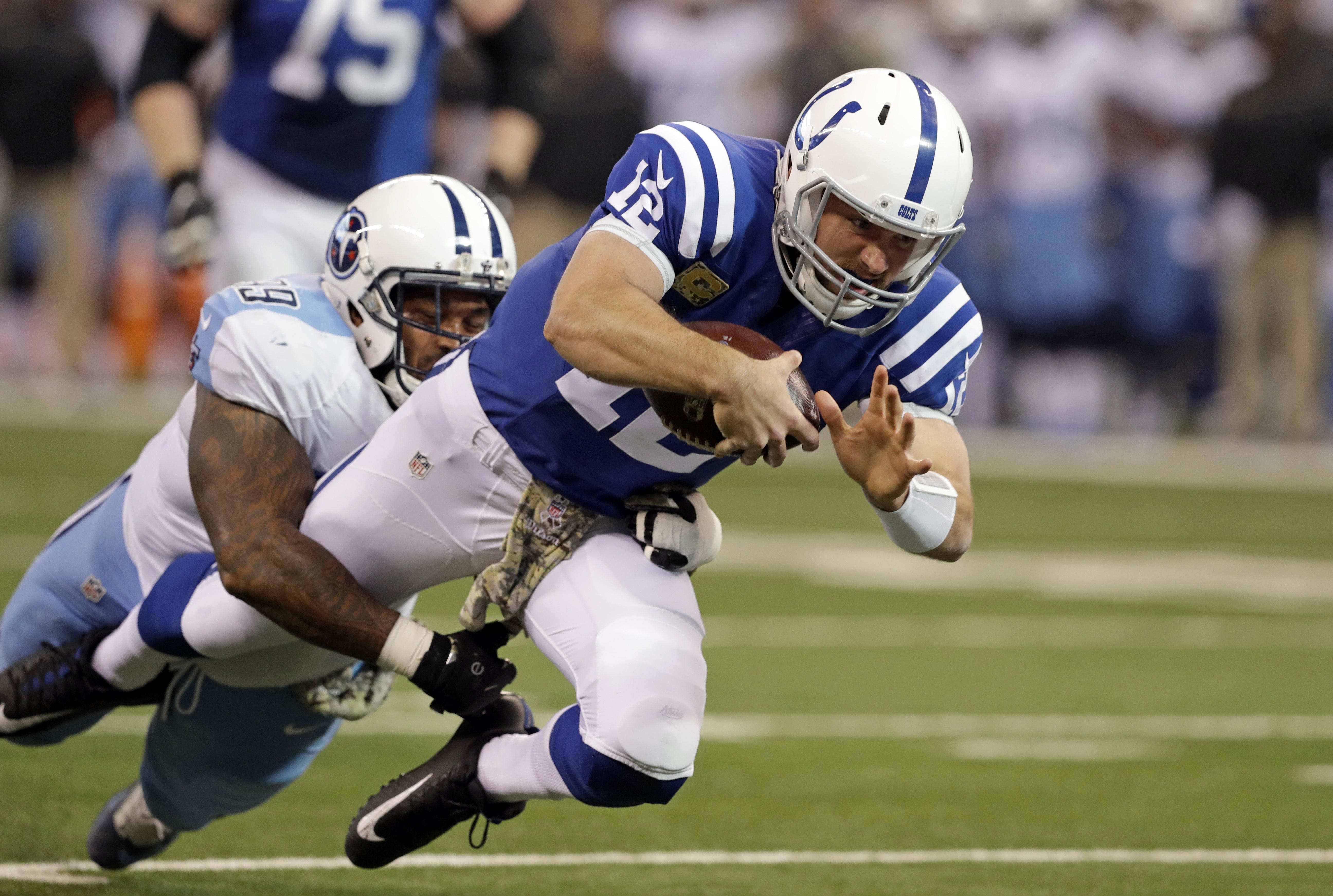 fca2a576 Colts QB Andrew Luck in concussion protocol | The Spokesman-Review