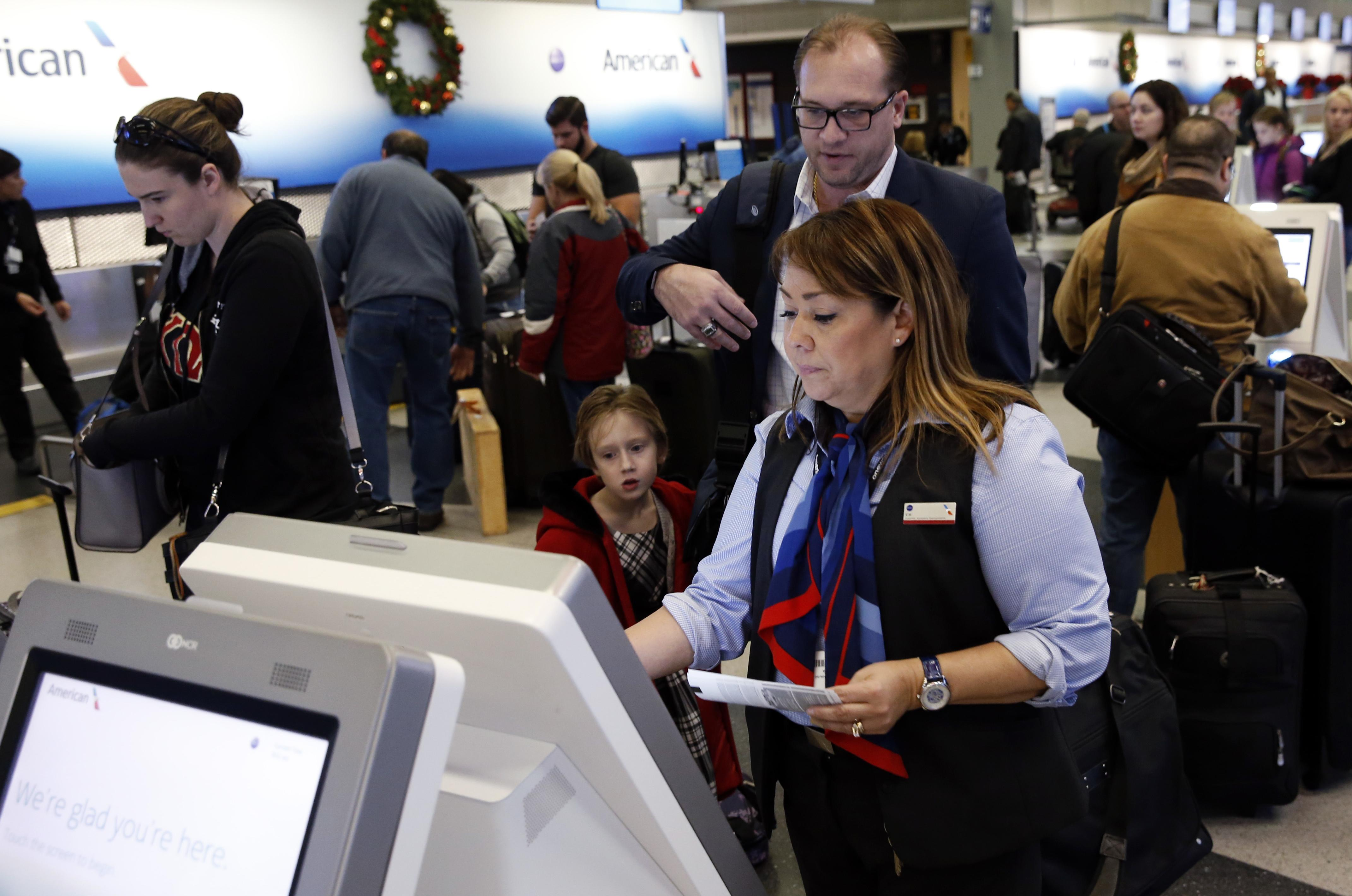 Airlines Swim In Cash But Leave Airport Workers High And