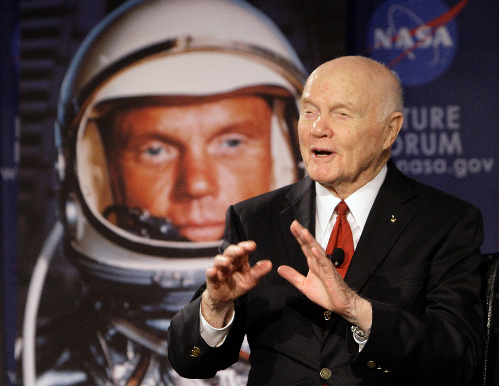 John Glenn, famed United States astronaut dead at 95