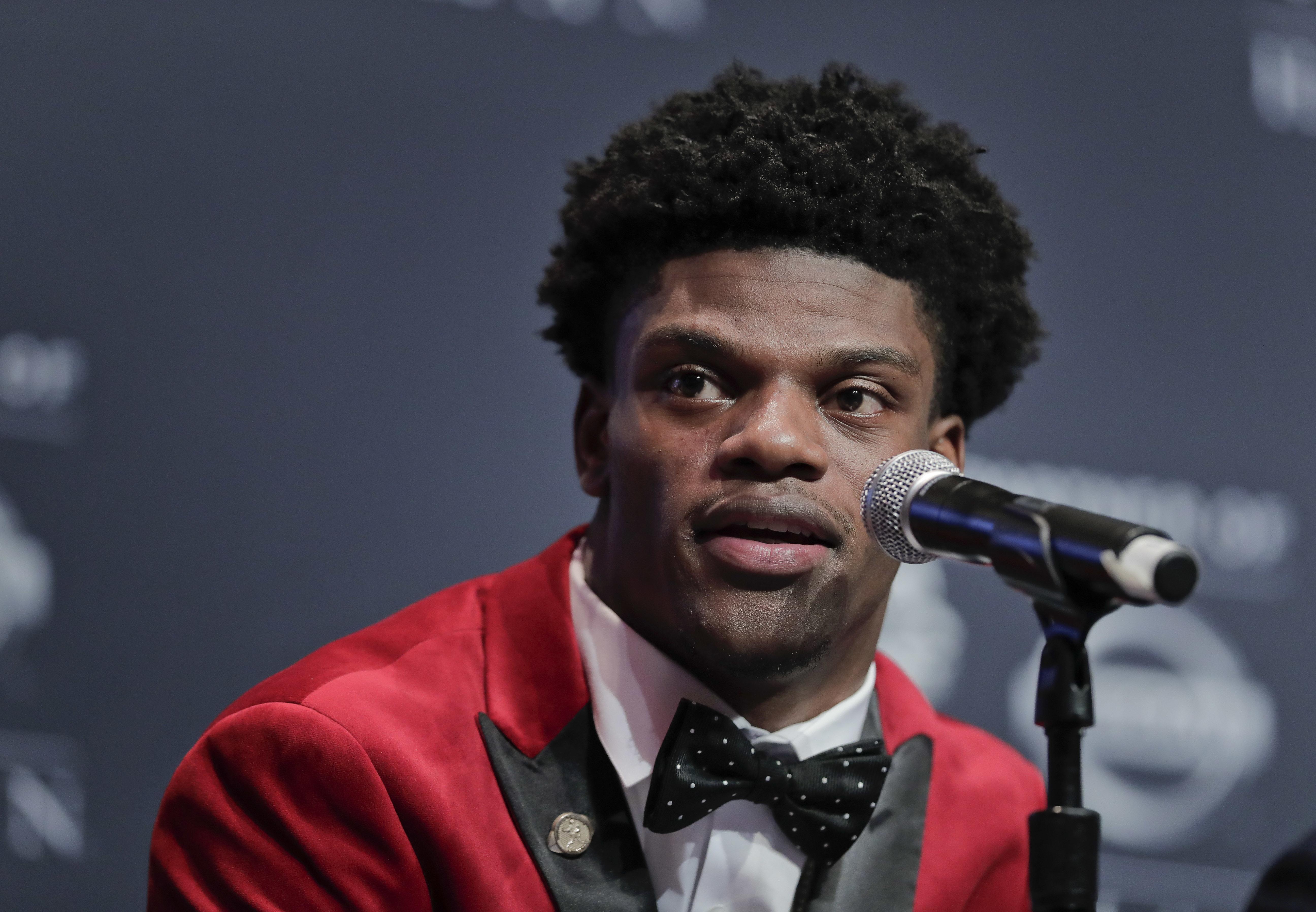 Louisville's Lamar Jackson wins Heisman Trophy | The Spokesman-Review