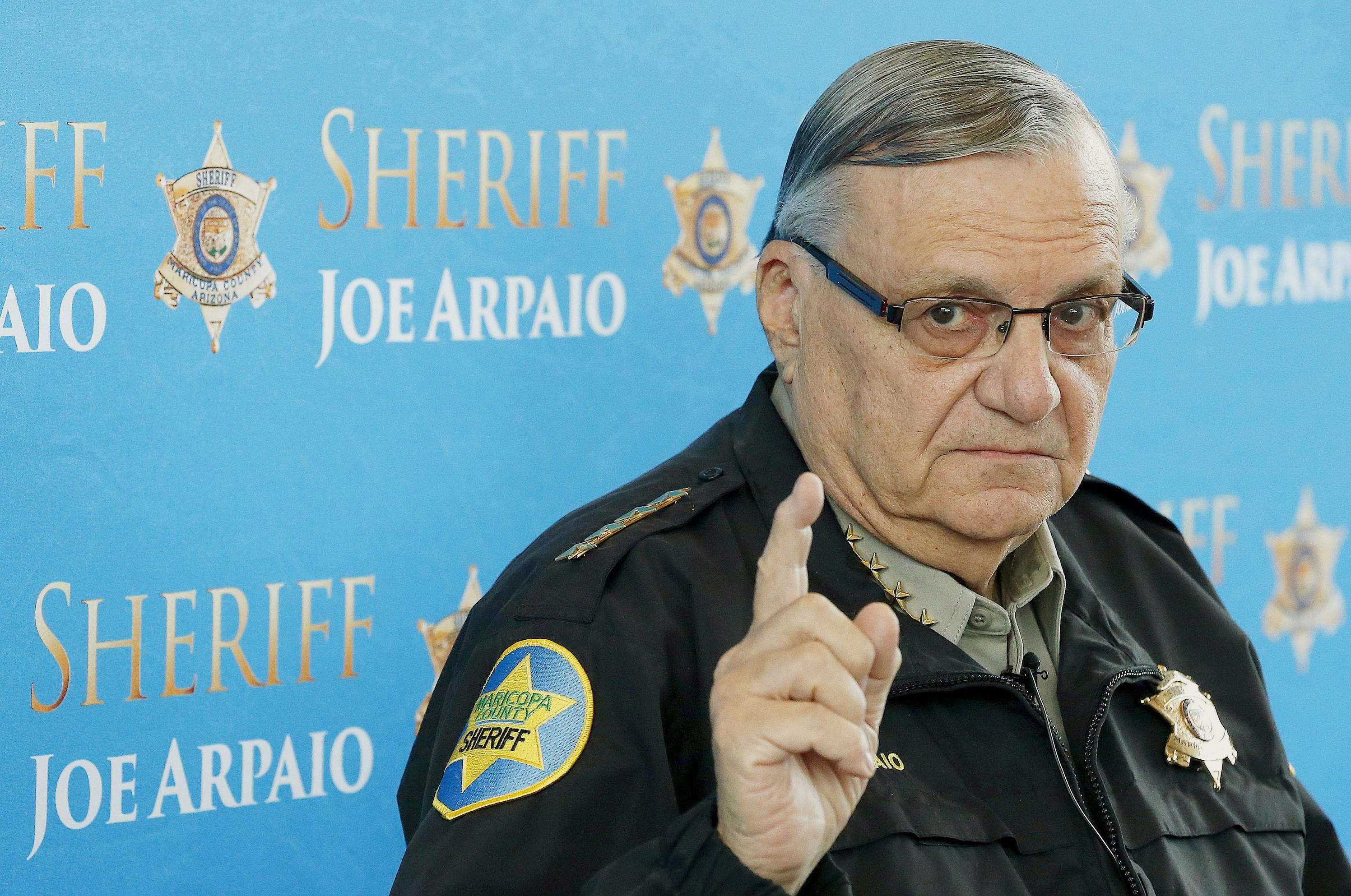 Sheriff Joe Arpaio Dives Into Obama Birth Certificate Again The