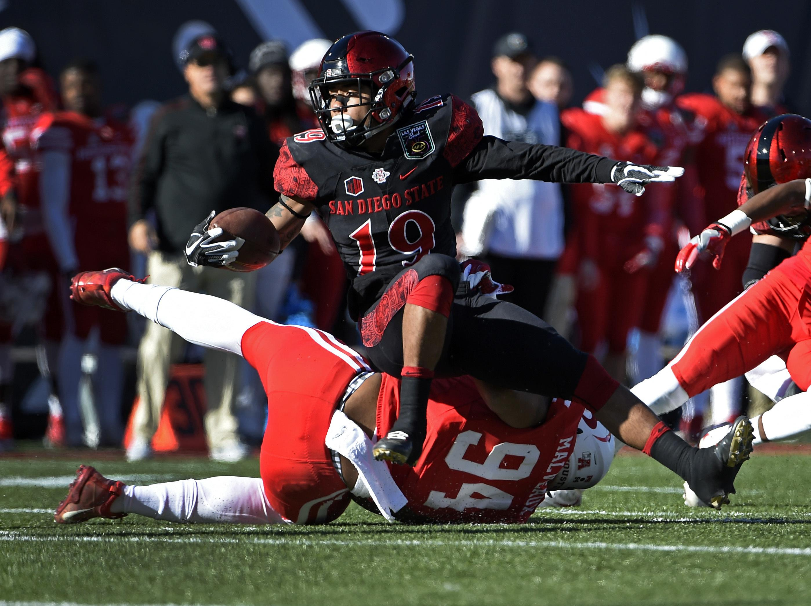 Donnell Pumphrey Breaks Ncaa Record To Guide Sdsu To Win In Las