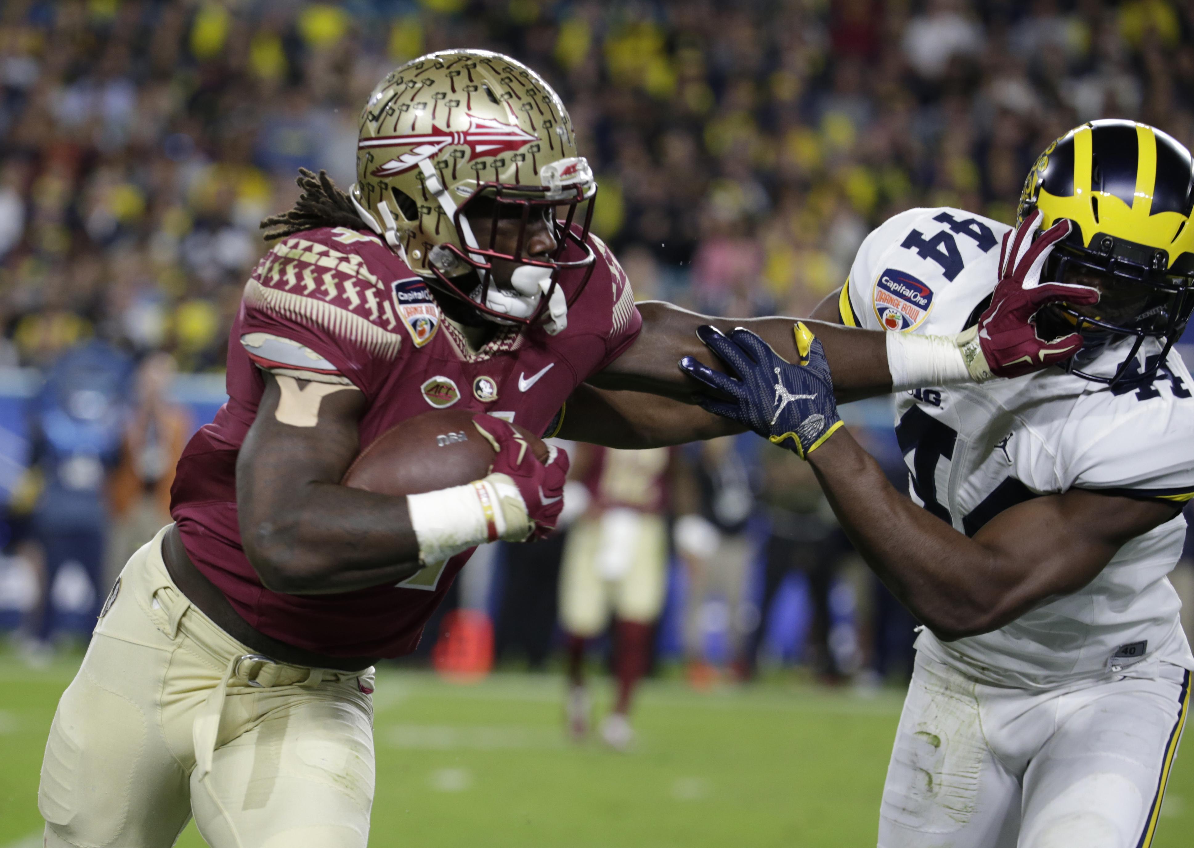 Seminoles Running Back Dalvin Cook Declares For Nfl Draft