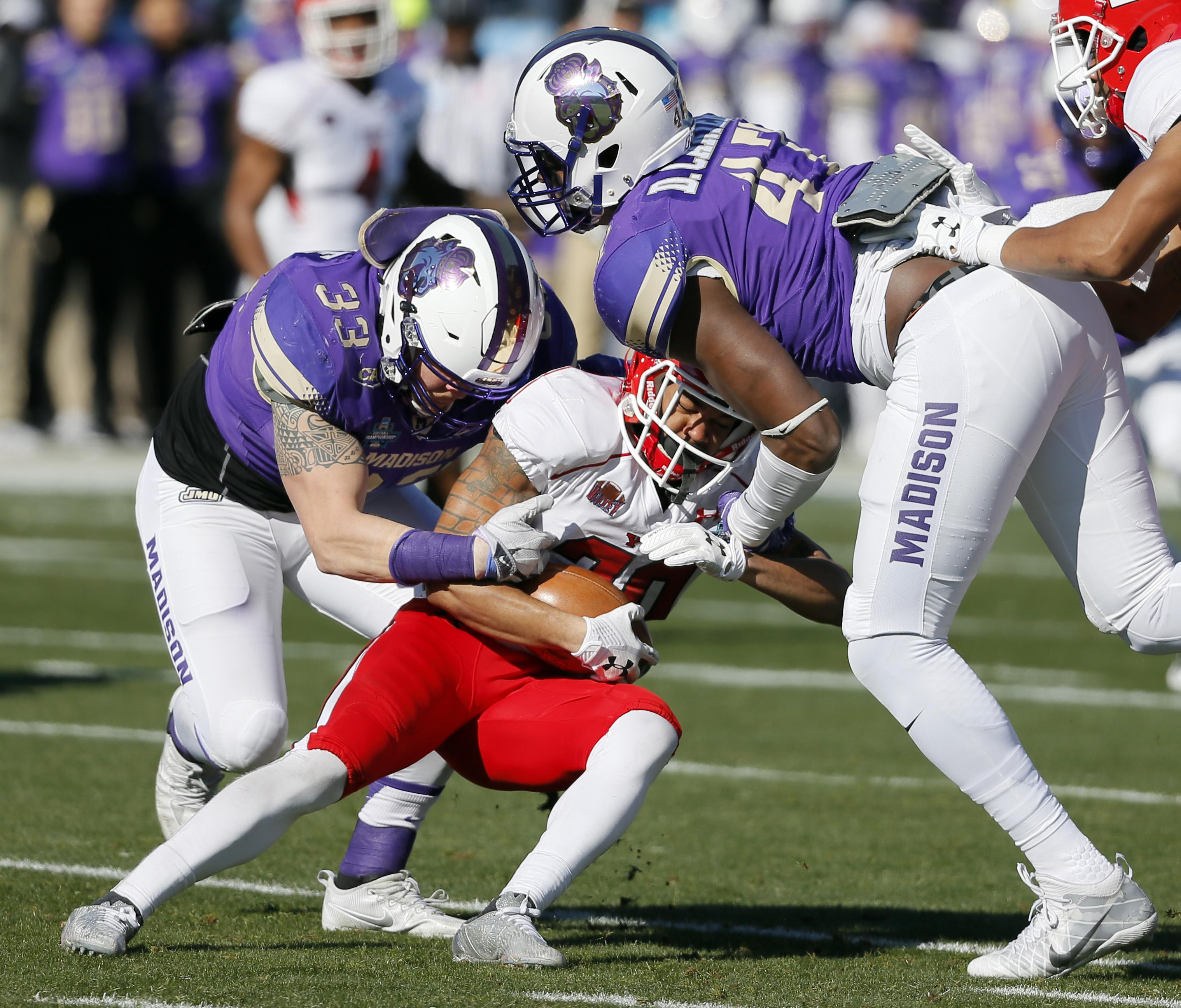 James Madison Wins Fcs Title Beats Youngstown State 28 14 The