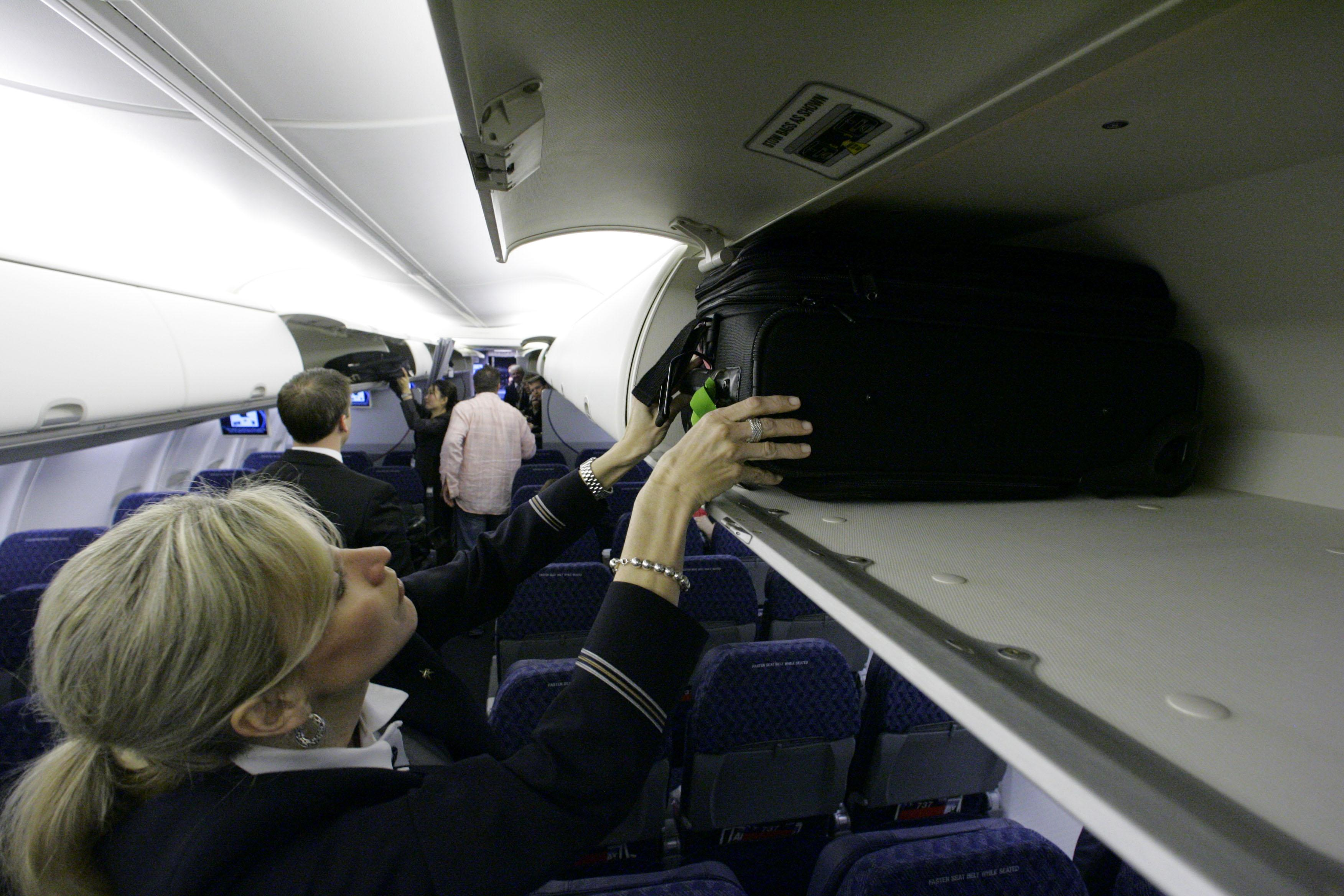 American Mimics United With Fare Barring Use Of Overhead