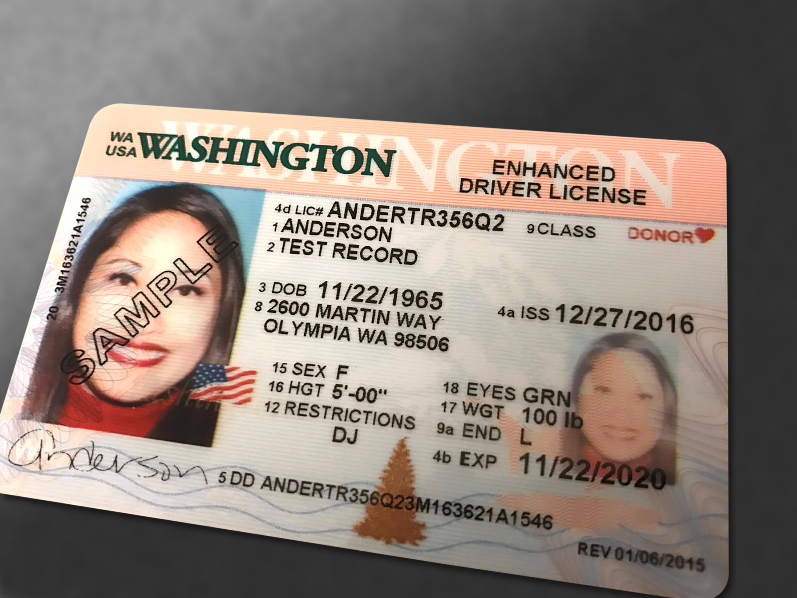 Documents for obtaining a drivers license