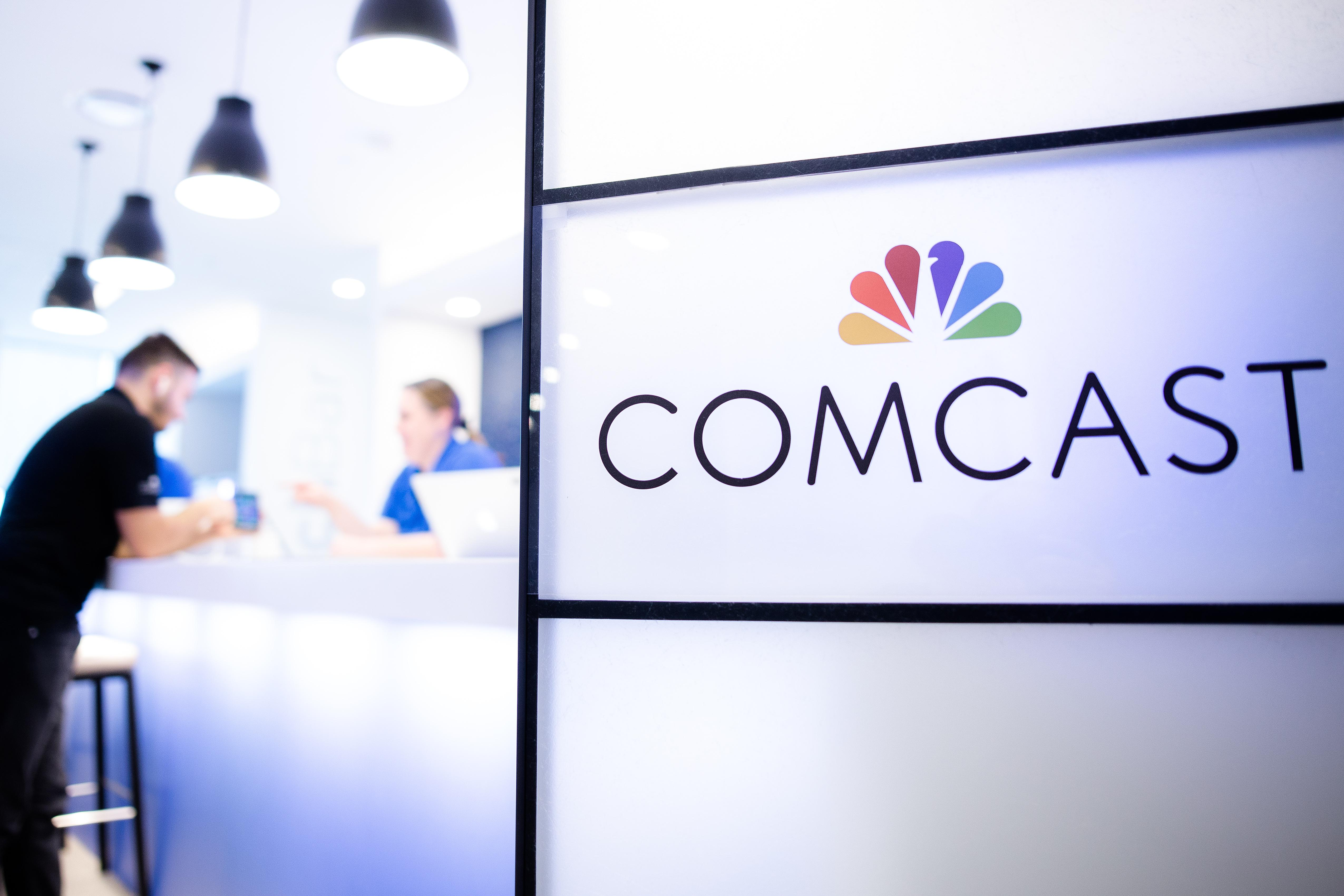 Comcast has acquired rights from cable network owners to offer their  channels nationwide, according to