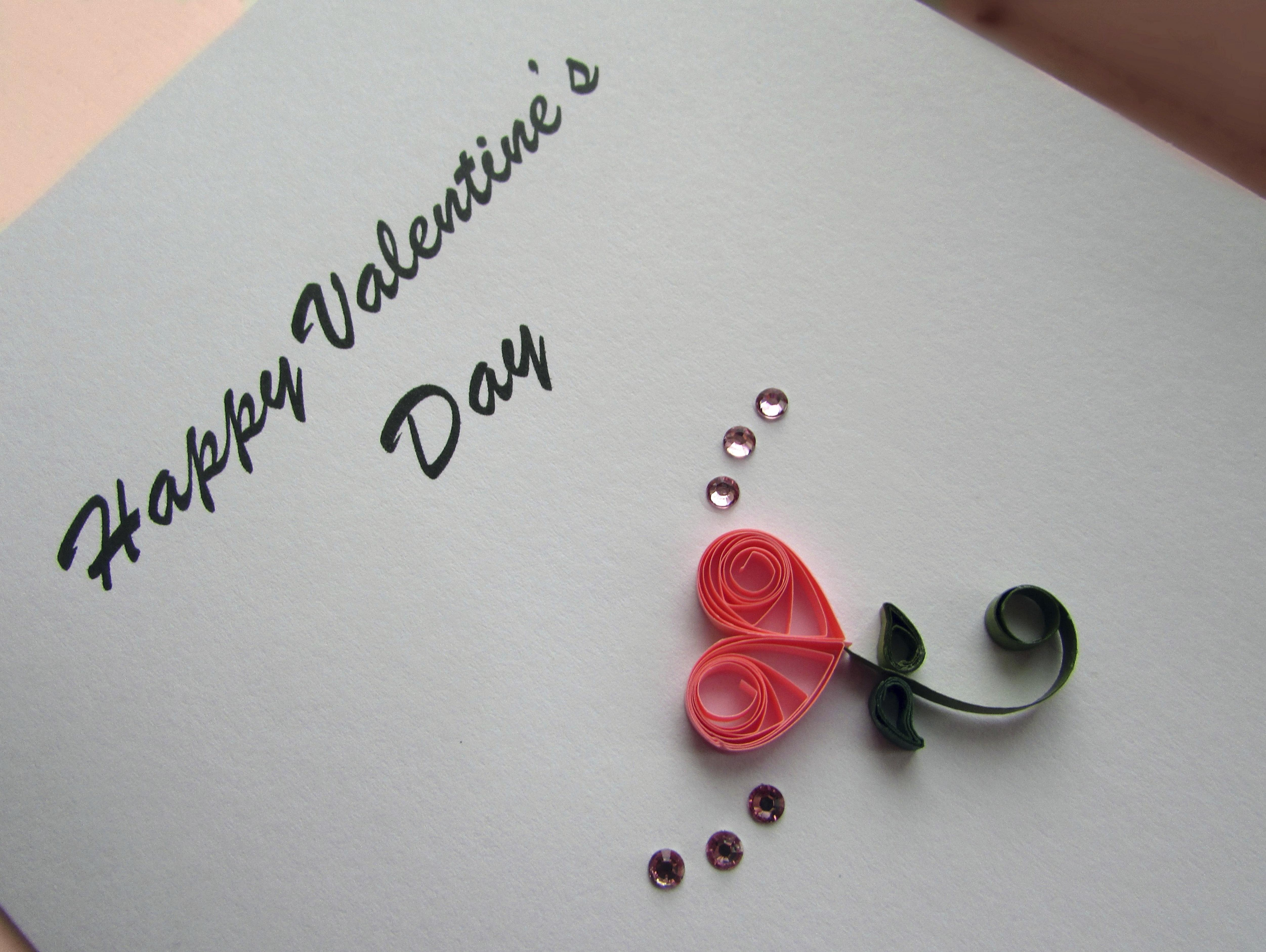 Quilling Paper Craft Lends Elegance To Valentine S Cards The